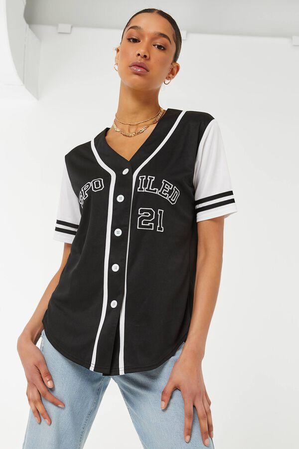 Jersey de baseball boutonné
