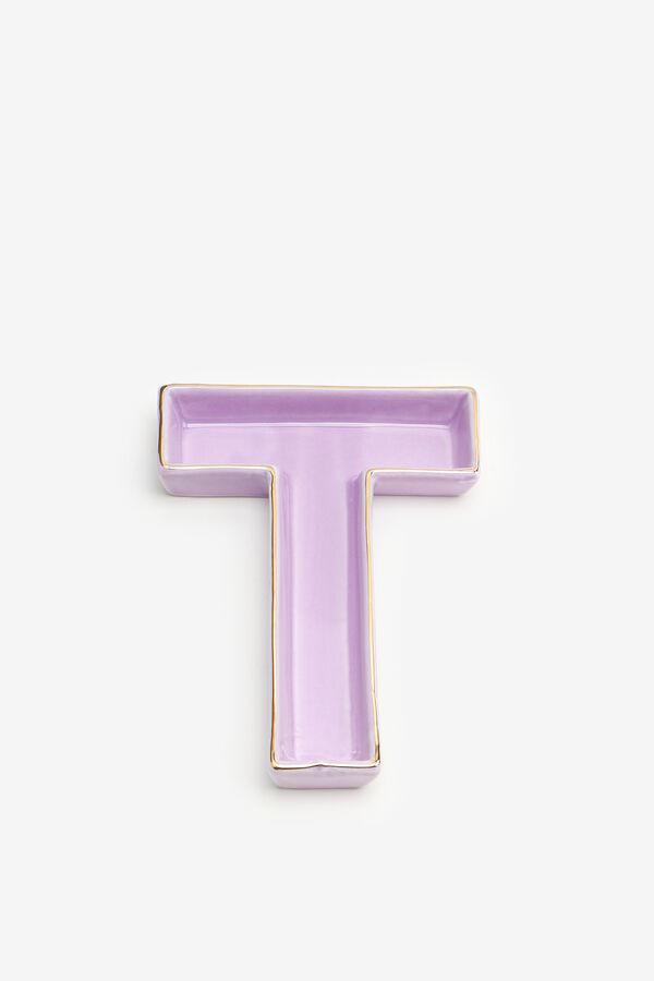 Vide-poche lettre T