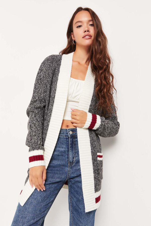 Cottage Sweater Open Cardigan