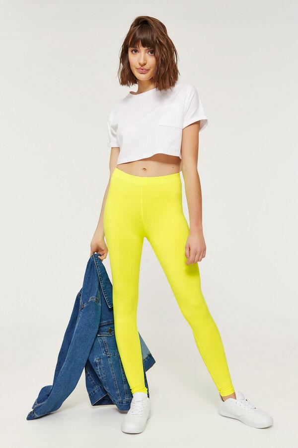 3496ea29329 Ardene Ardene Women s Fluorescent Yellow Scuba Leggings