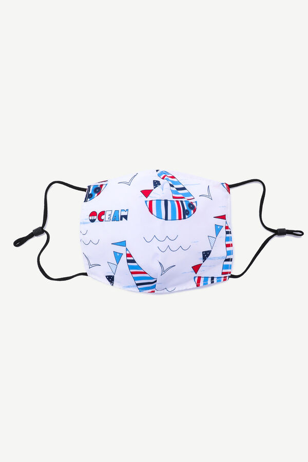 Sailboat Face Covering for Kids
