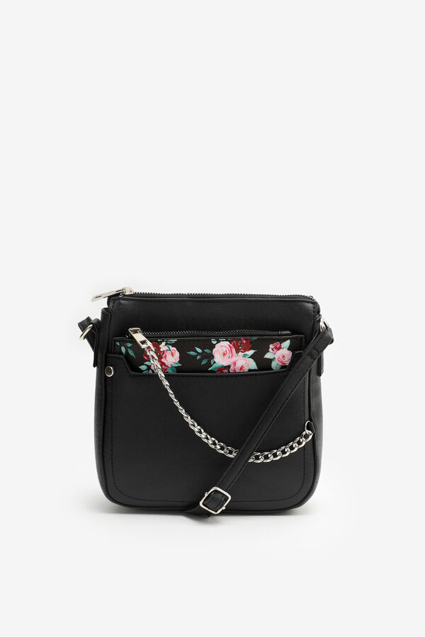 Floral Crossbody Pouch Bag