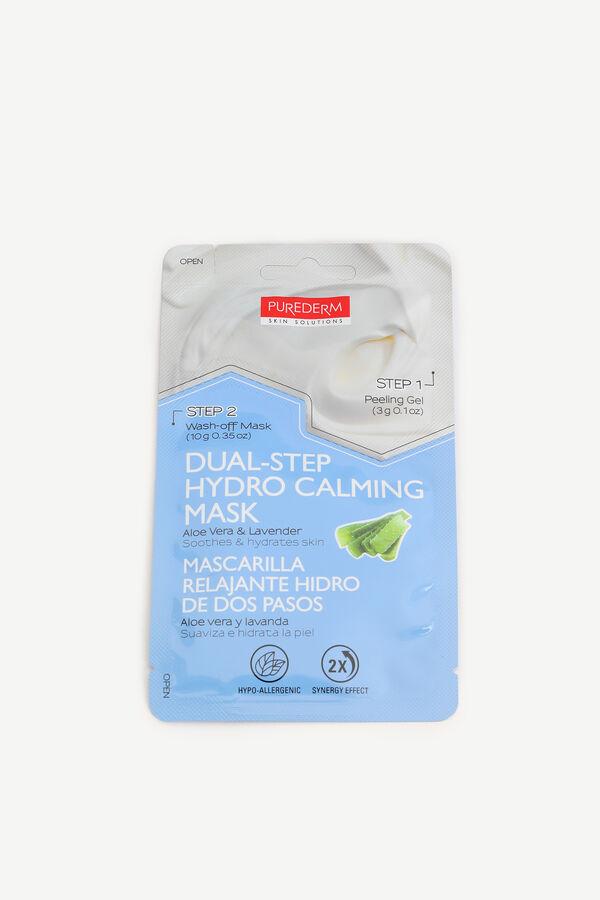Masque hydratant en 2 étapes à l'aloe