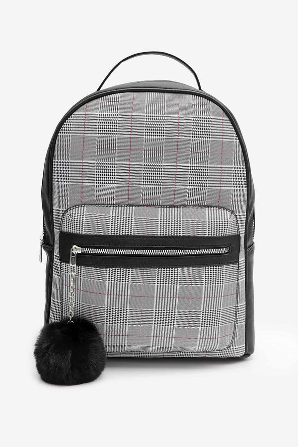 Backpack with Pompom