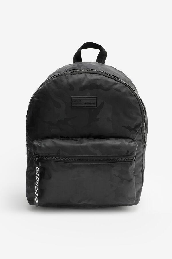 Nylon Camo Backpack