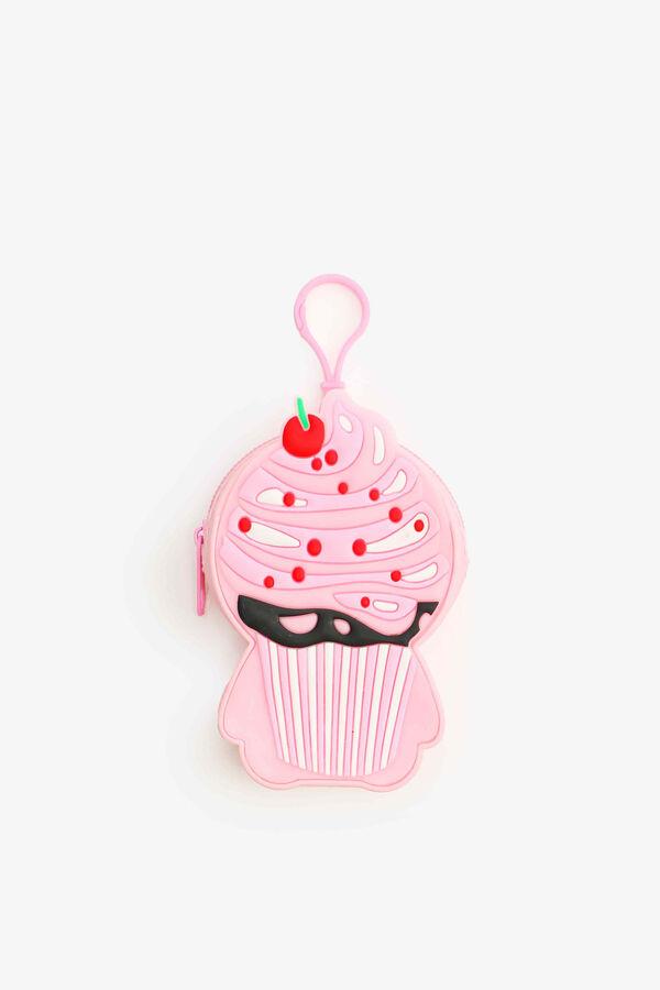 Porte-monnaie cupcake pour filles