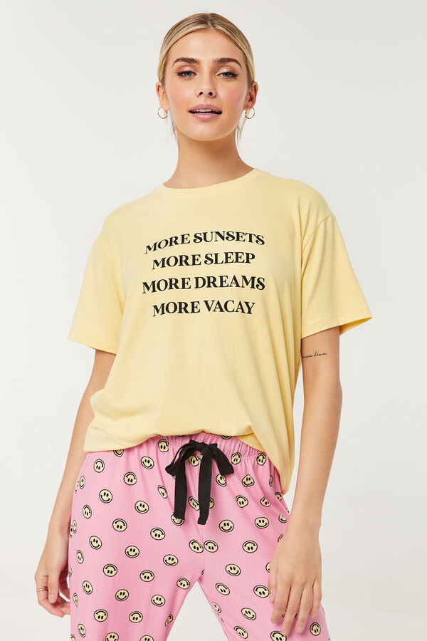 T-shirt pyjama très doux