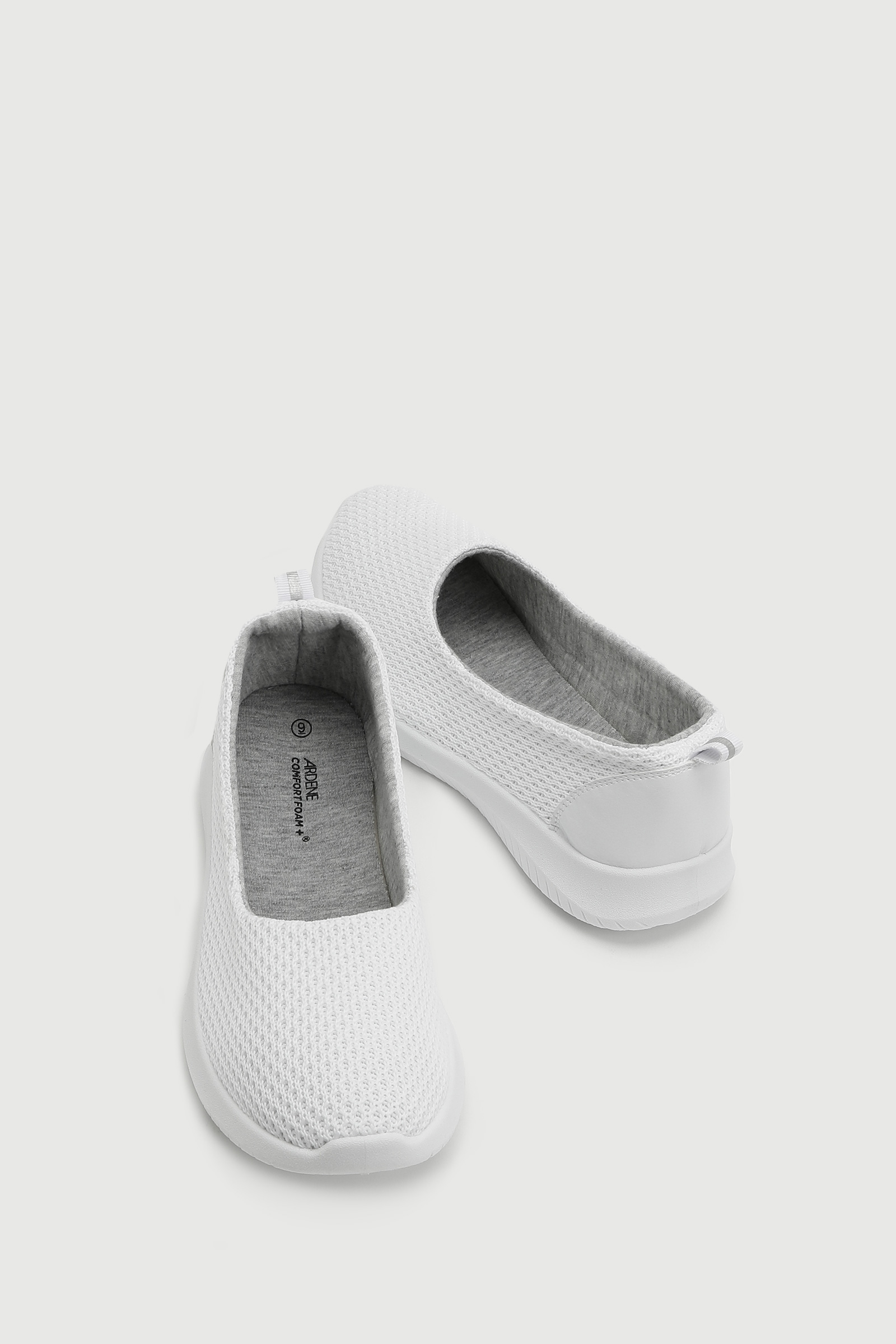Mesh Knit Ballerina Sneakers