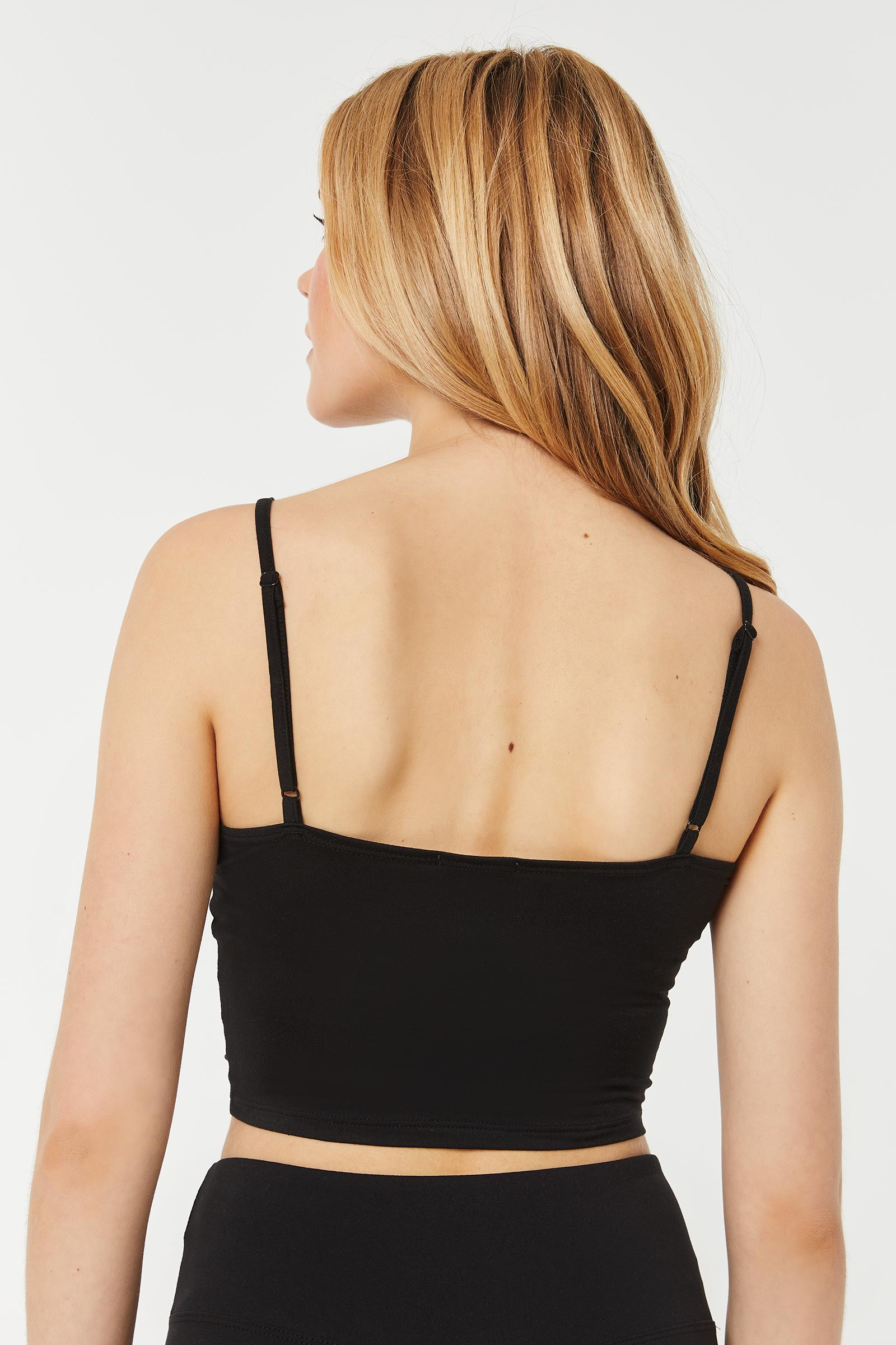 Ruched Ultra Cropped Tank Top
