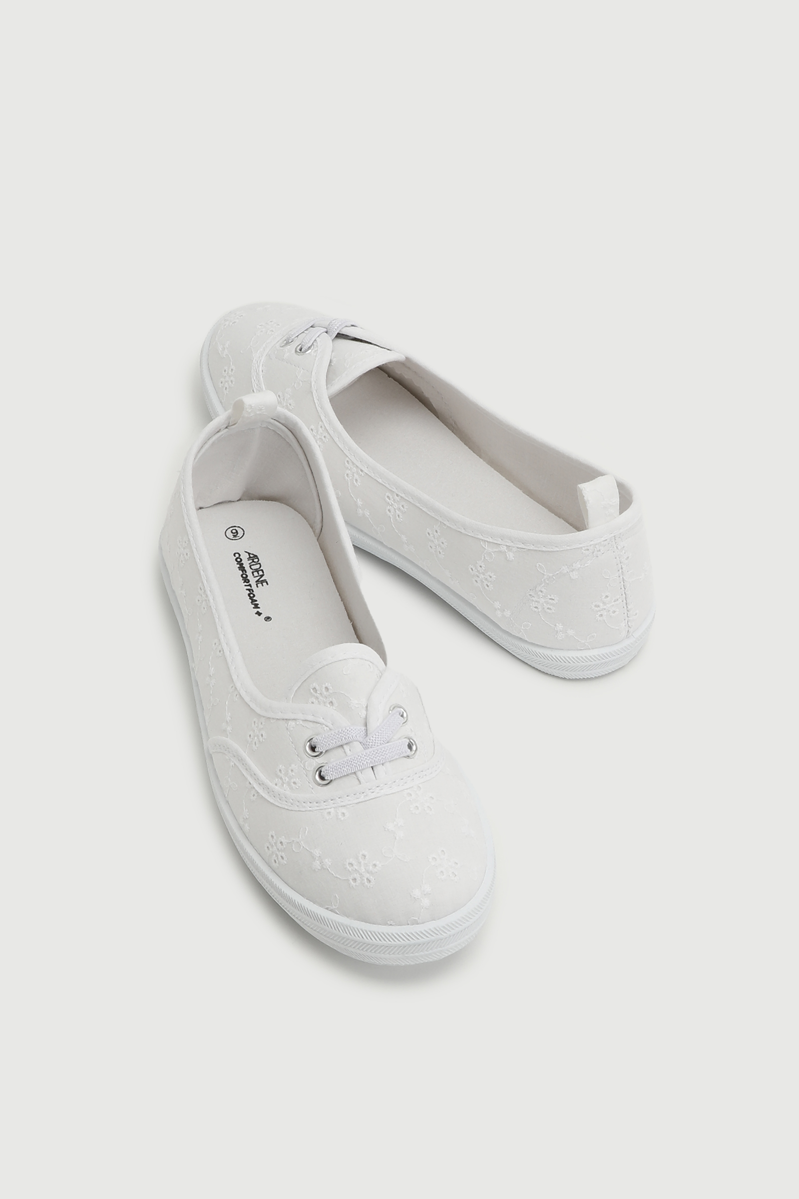 Cut Out Slip-On Sneakers