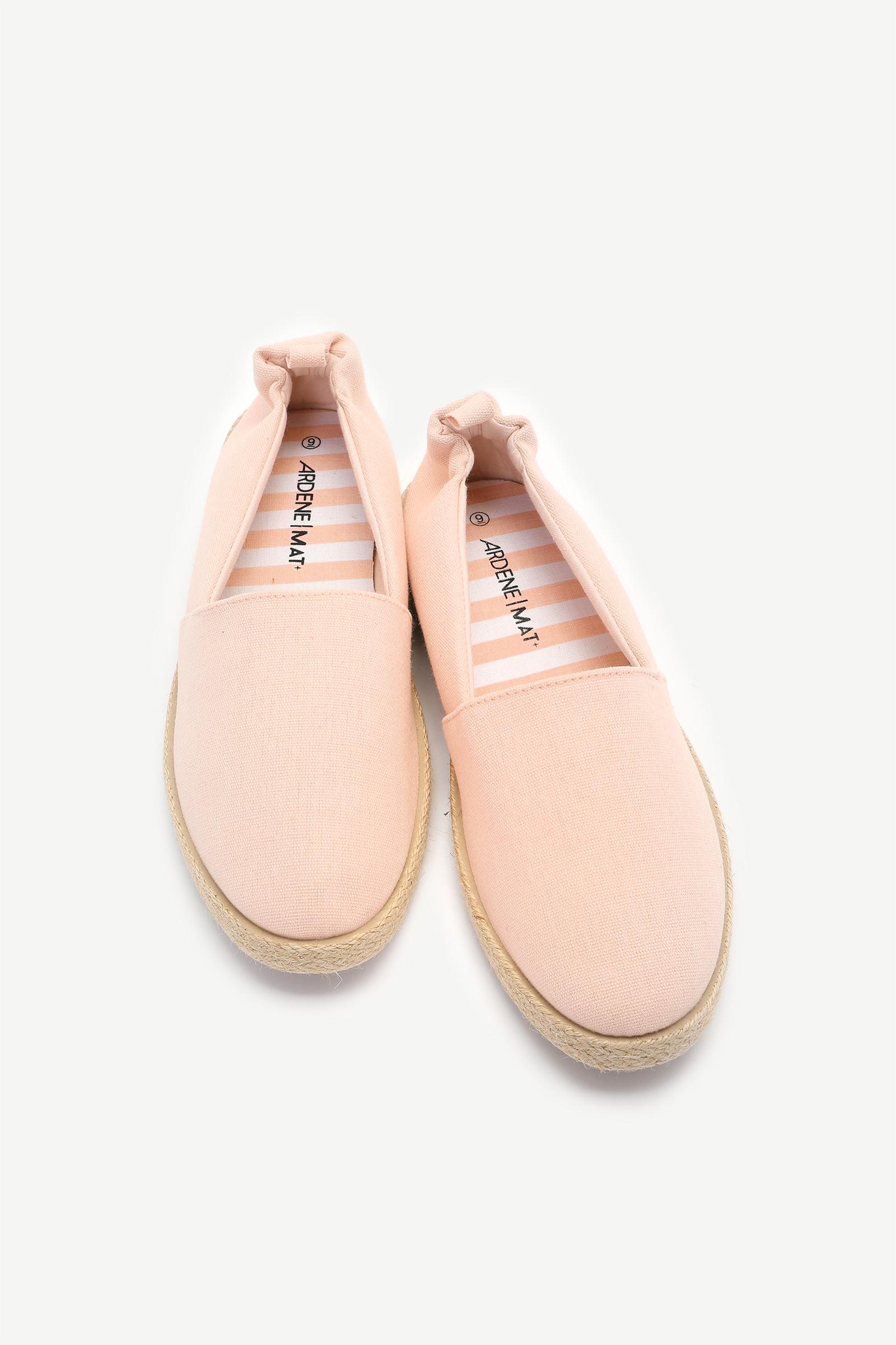 Jute Slip-On Shoes
