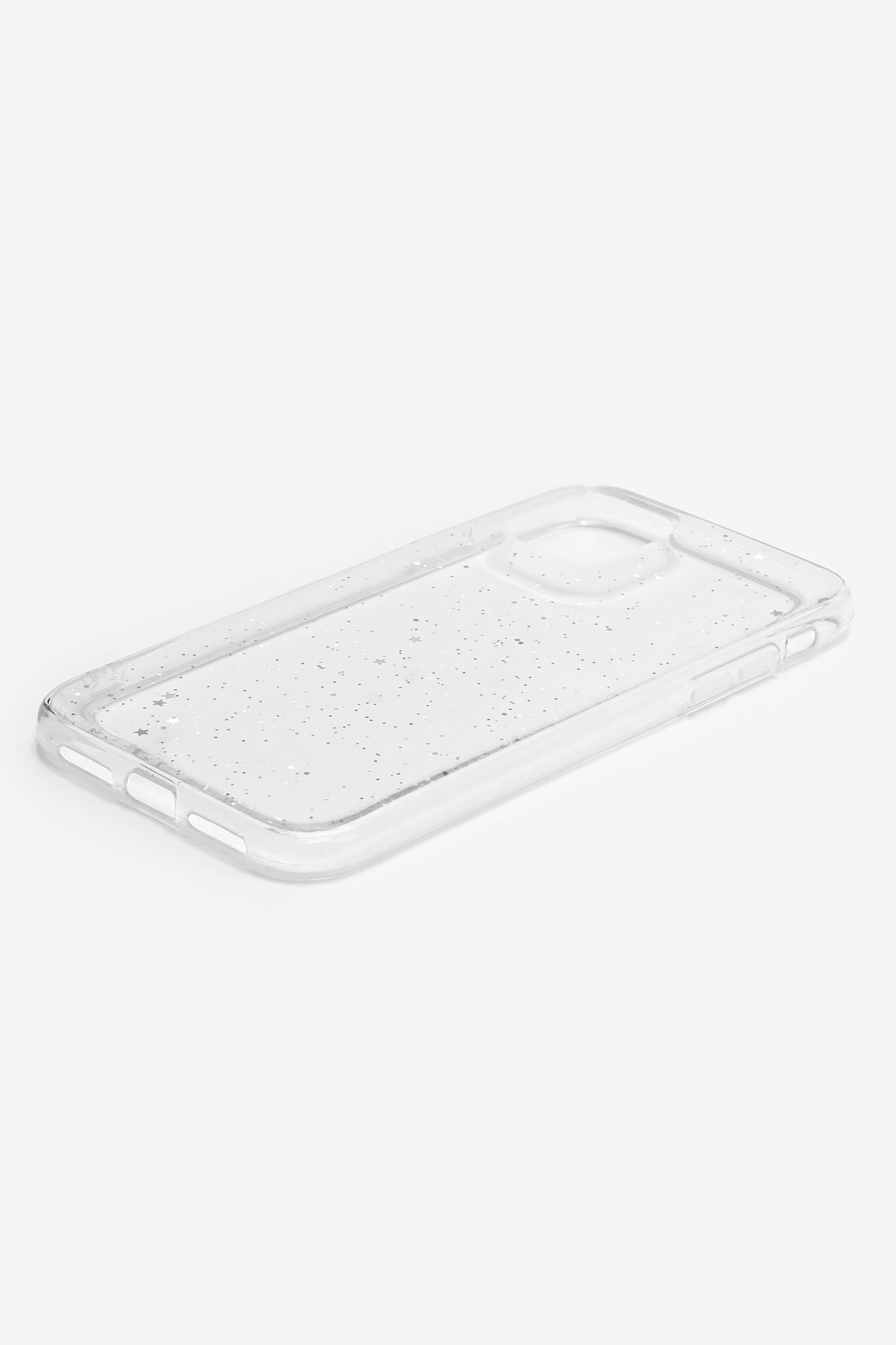 Clear Glitter iPhone 11 Case