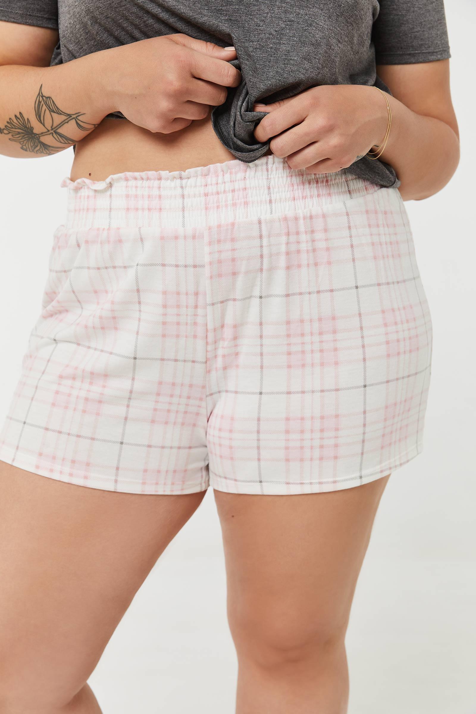 Plaid PJ Shorts