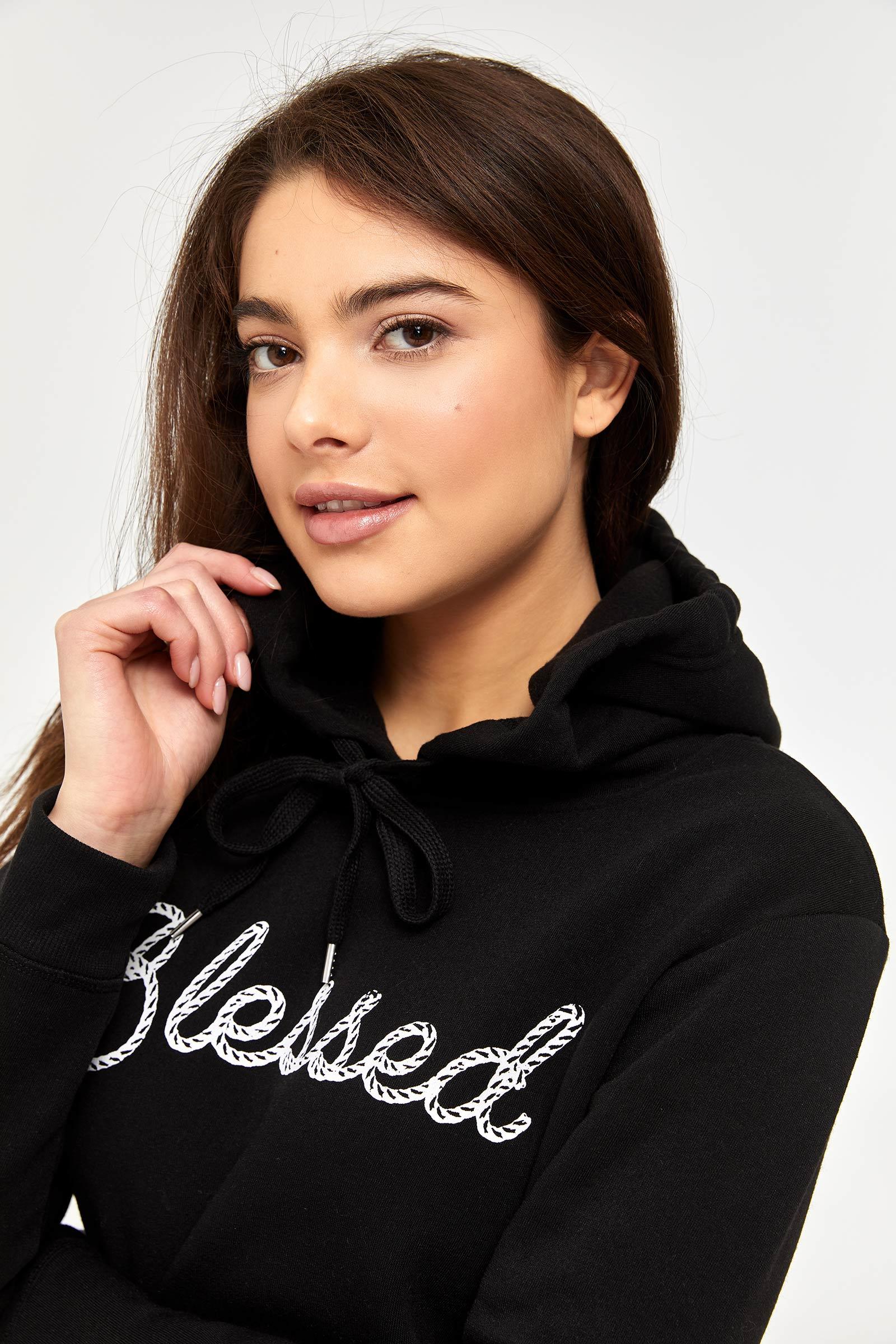 Fleece-Lined Graphic Hoodie