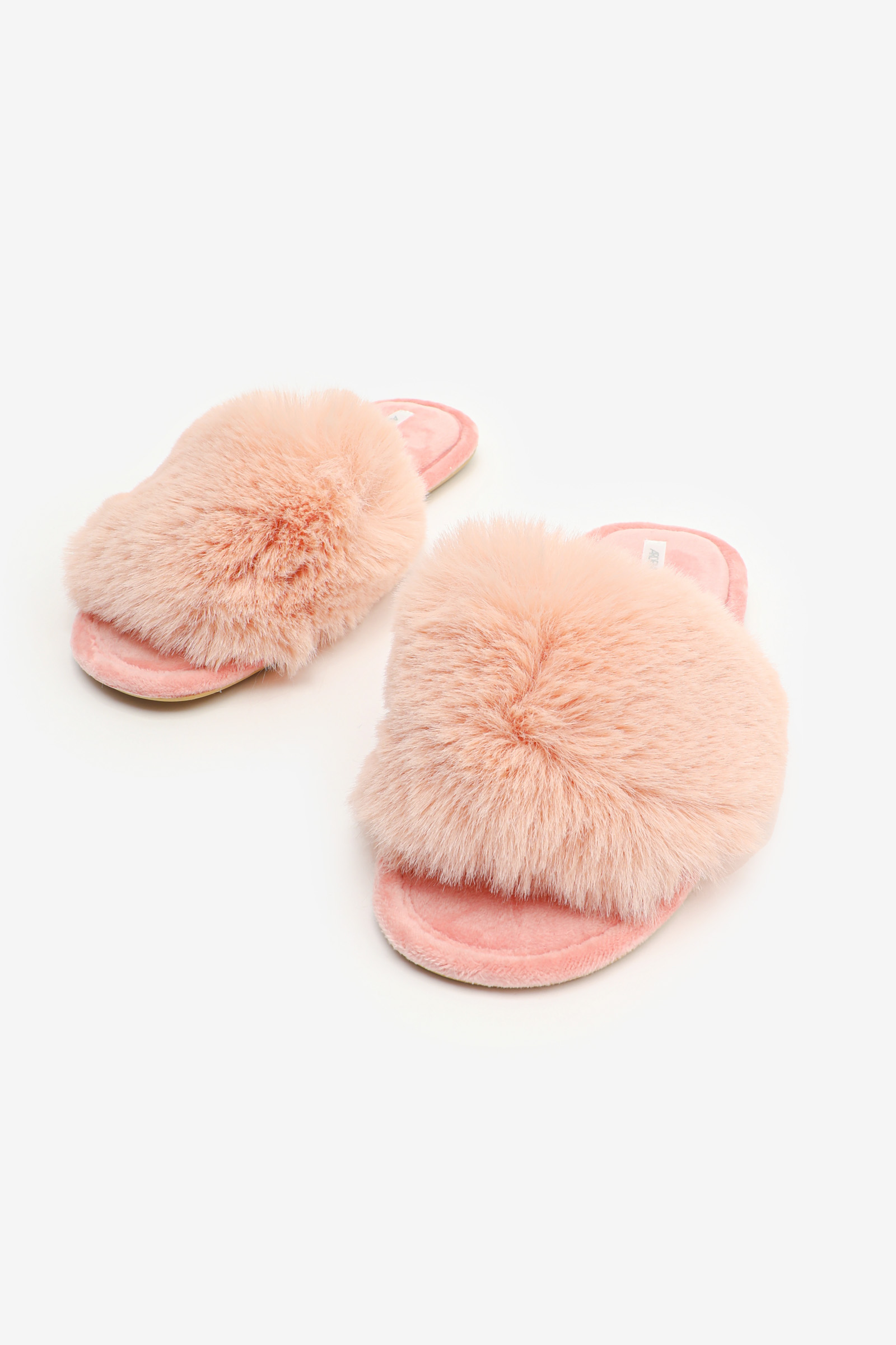 Lush Faux Fur Slide Slippers