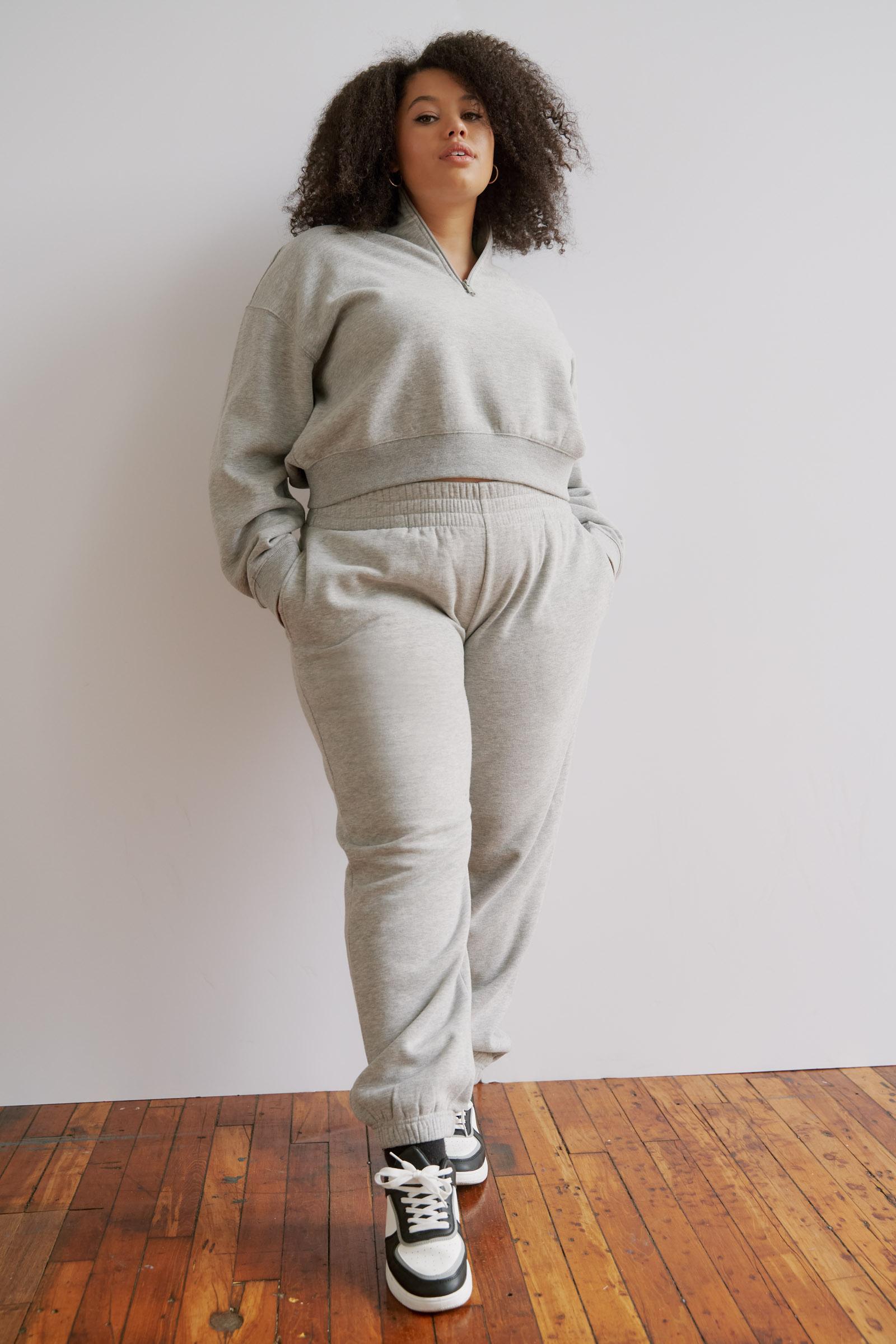 Half-Zip Mock Sweatshirt