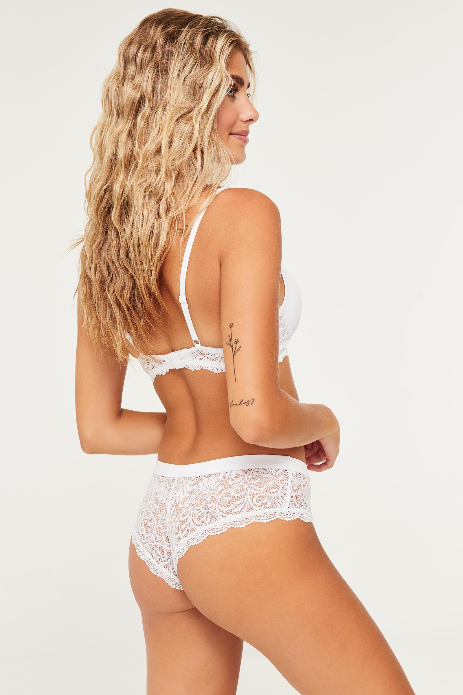 Softie Cheeky Panty with Lace