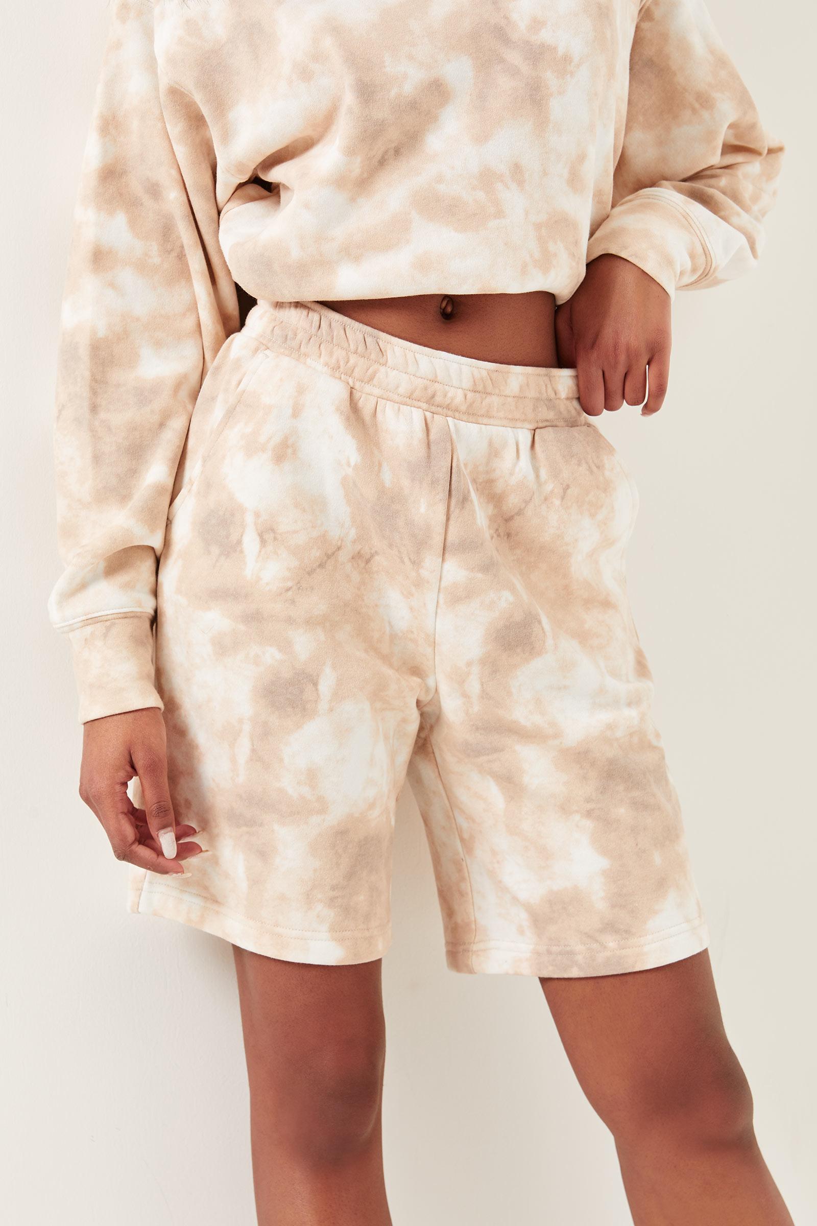 Organic Cotton Tie-dye Sweatshorts