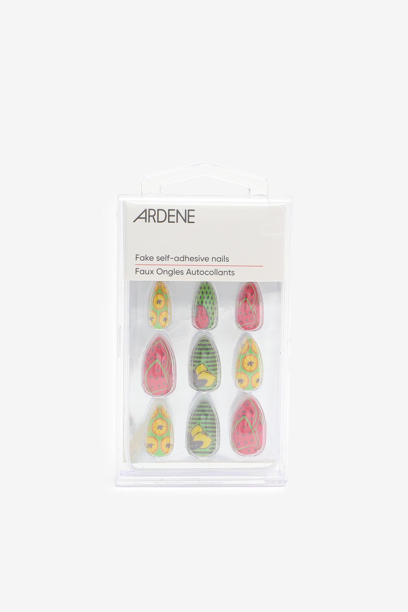 Paquet de faux ongles fruits vibrants