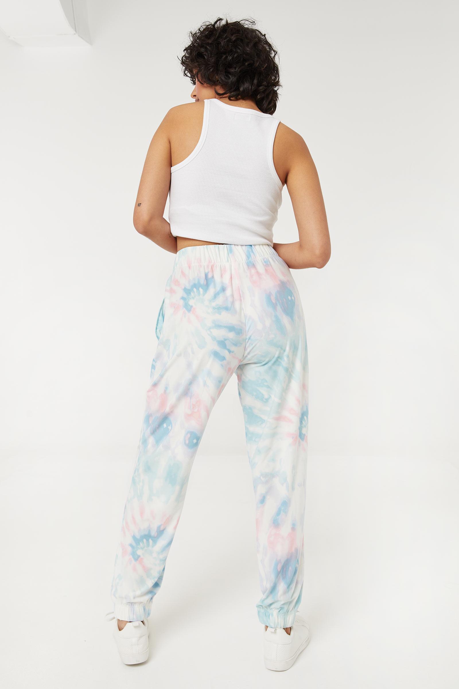 Jogging très doux tie-dye