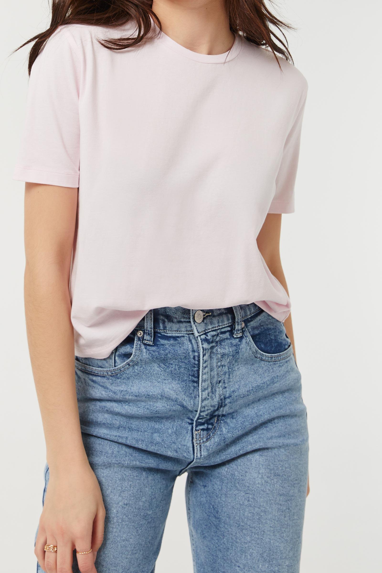 Basic Boxy Crop T-shirt