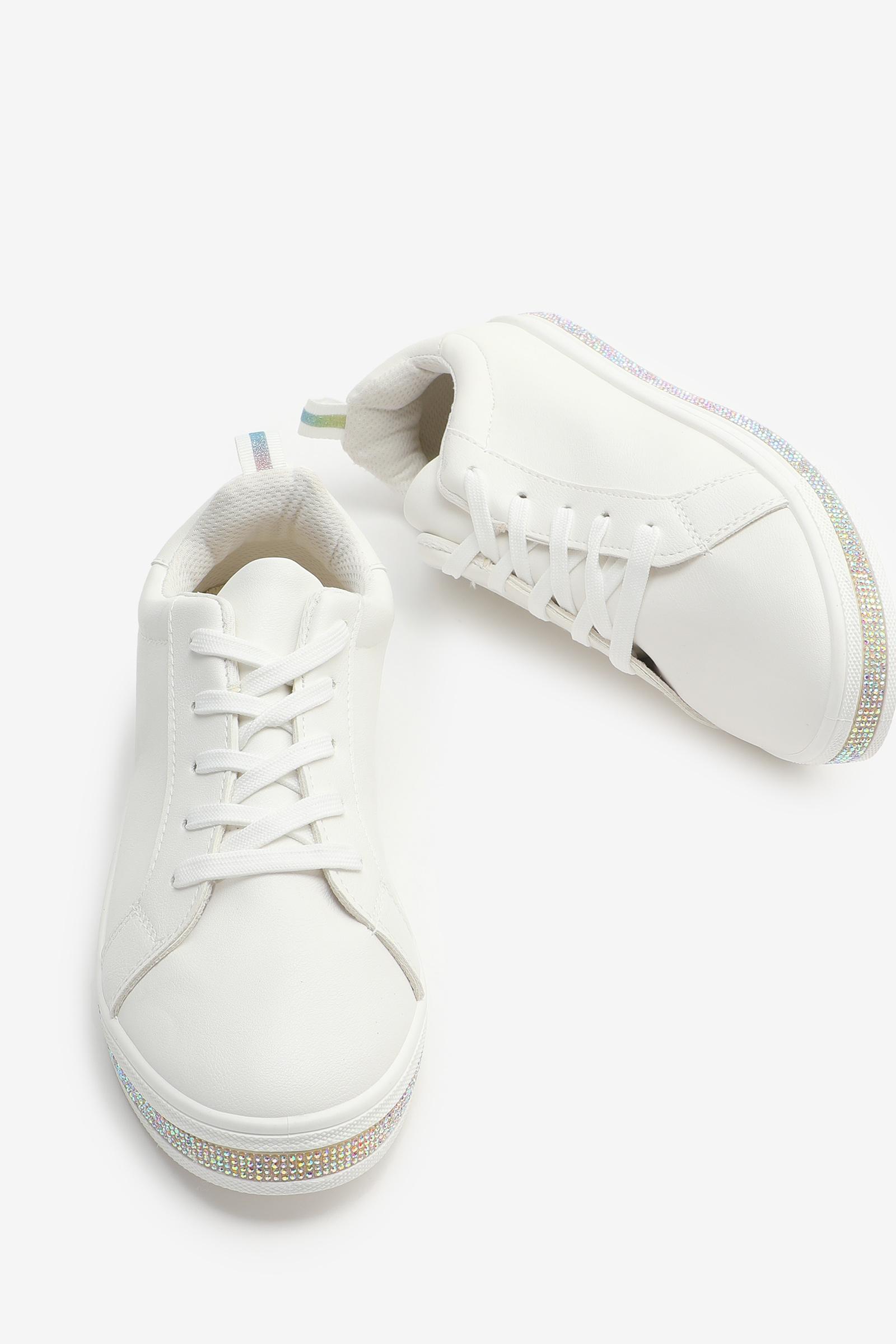 Gemstone Midsole Sneakers