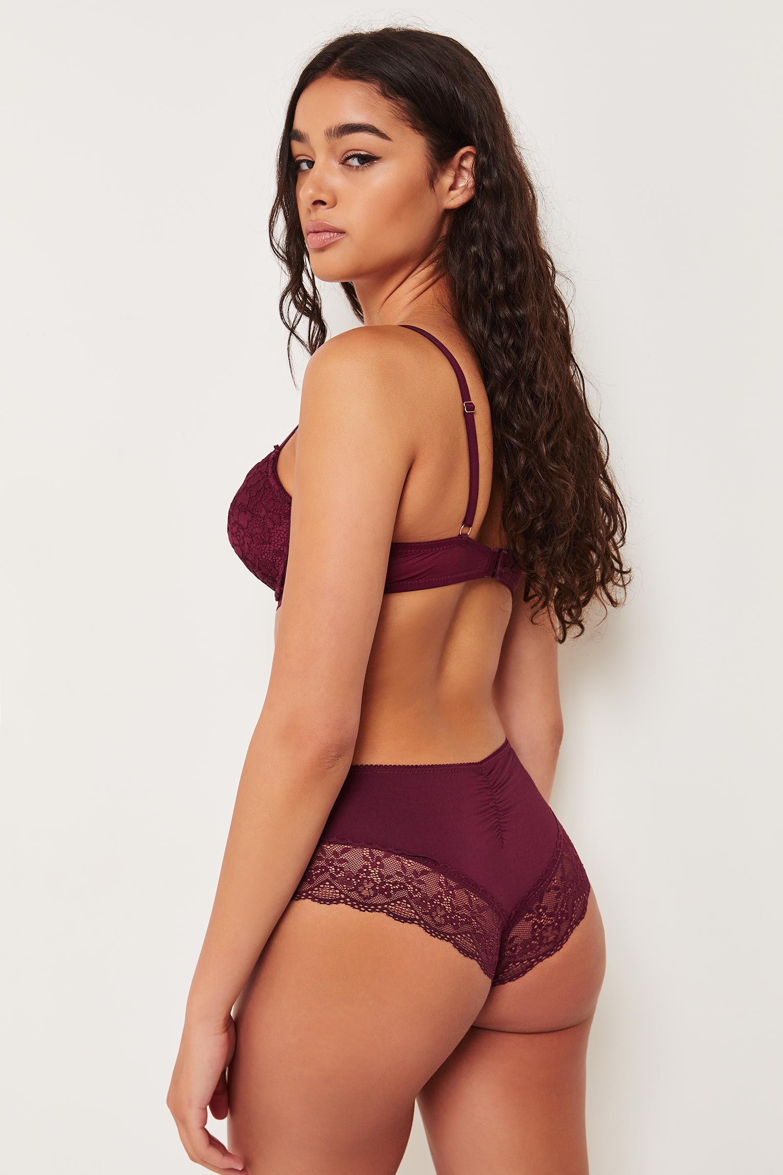 Micro Cheeky Panty with Lace Trims