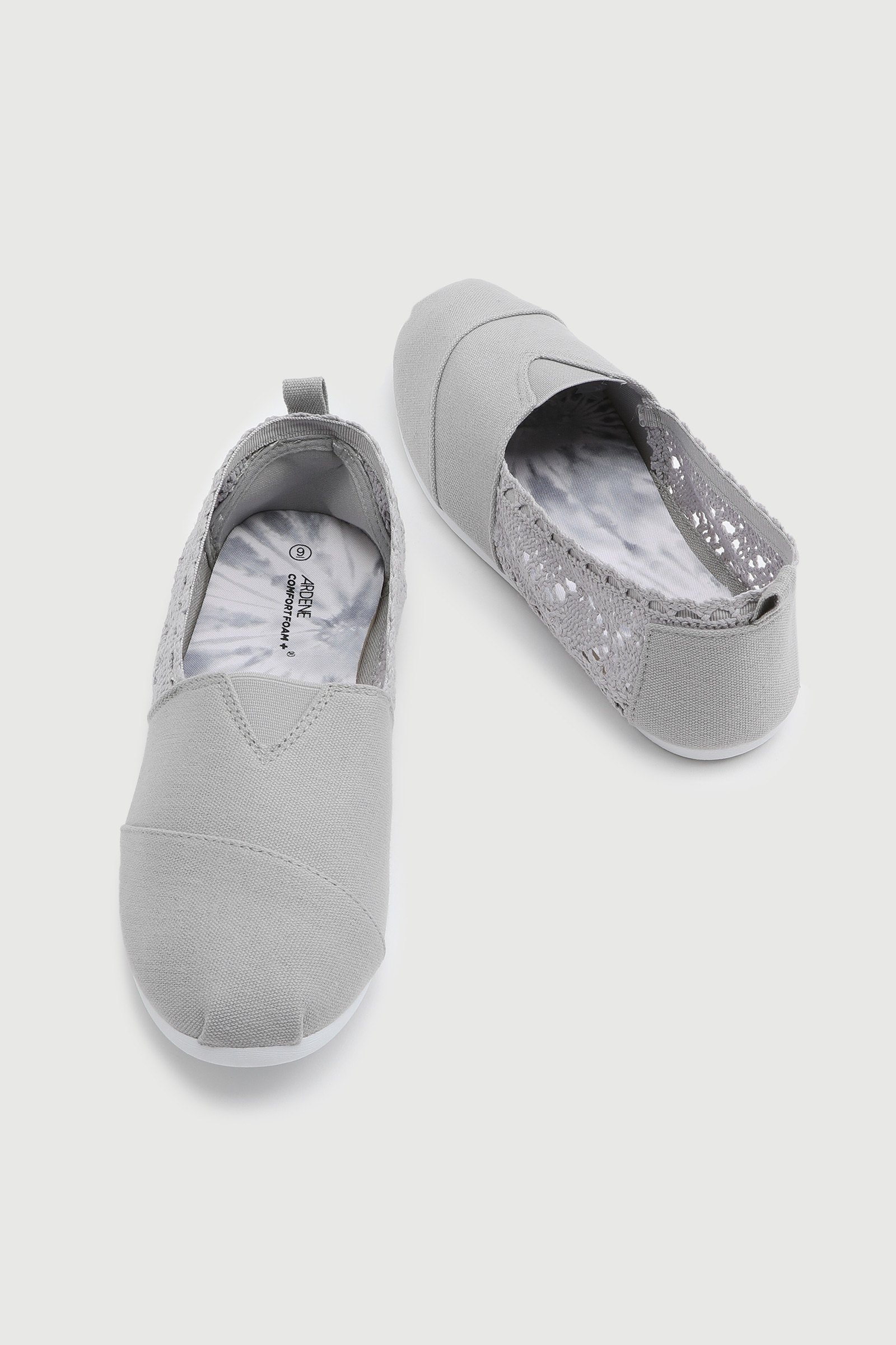 Crocheted Slip-On Sneakers