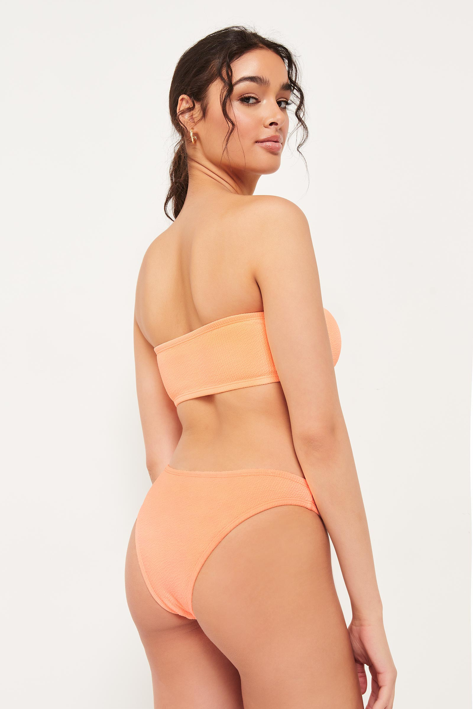 High Leg Bare Bikini Bottom