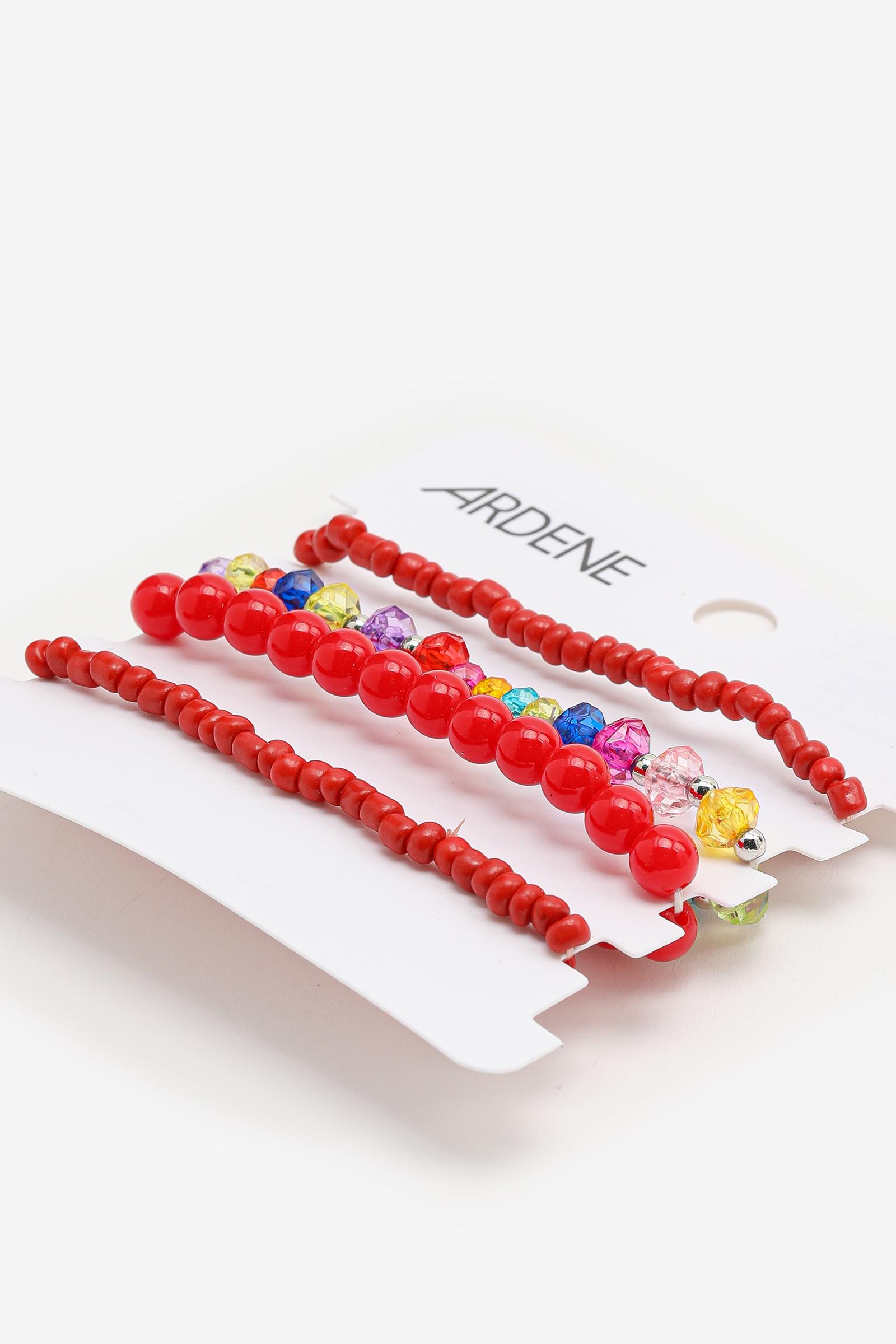 4-Pack Bead Bracelets