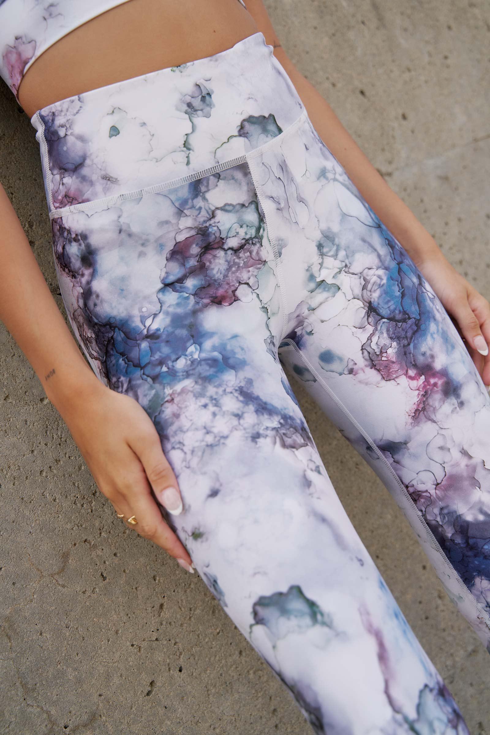 Legging aquarelle avec poche MOVE