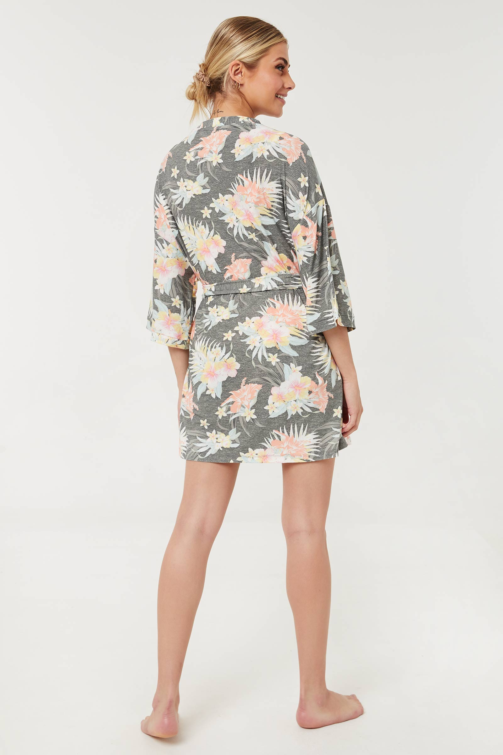 Floral PJ and Robe Set