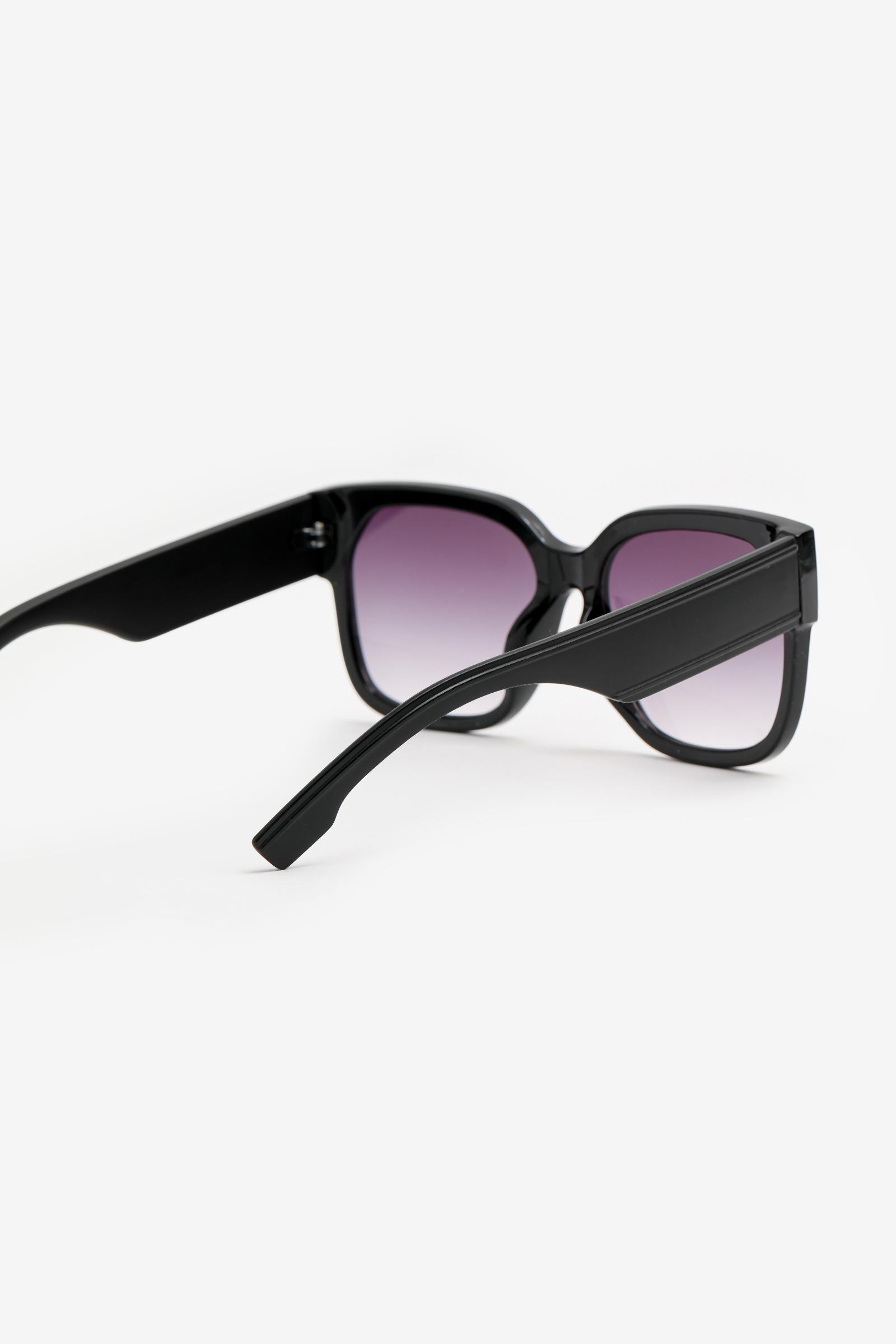 Oversized Square Plastic Sunglasses