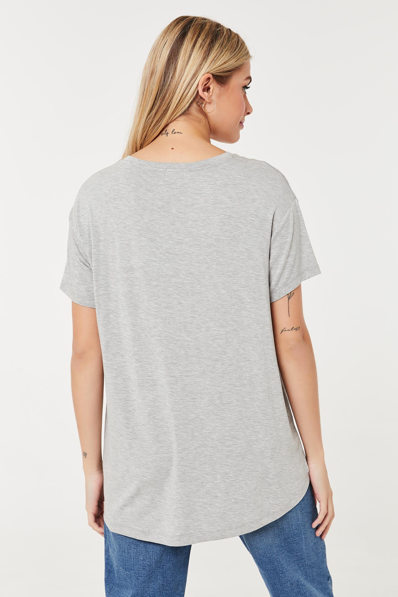T-shirt à coupe décontractée