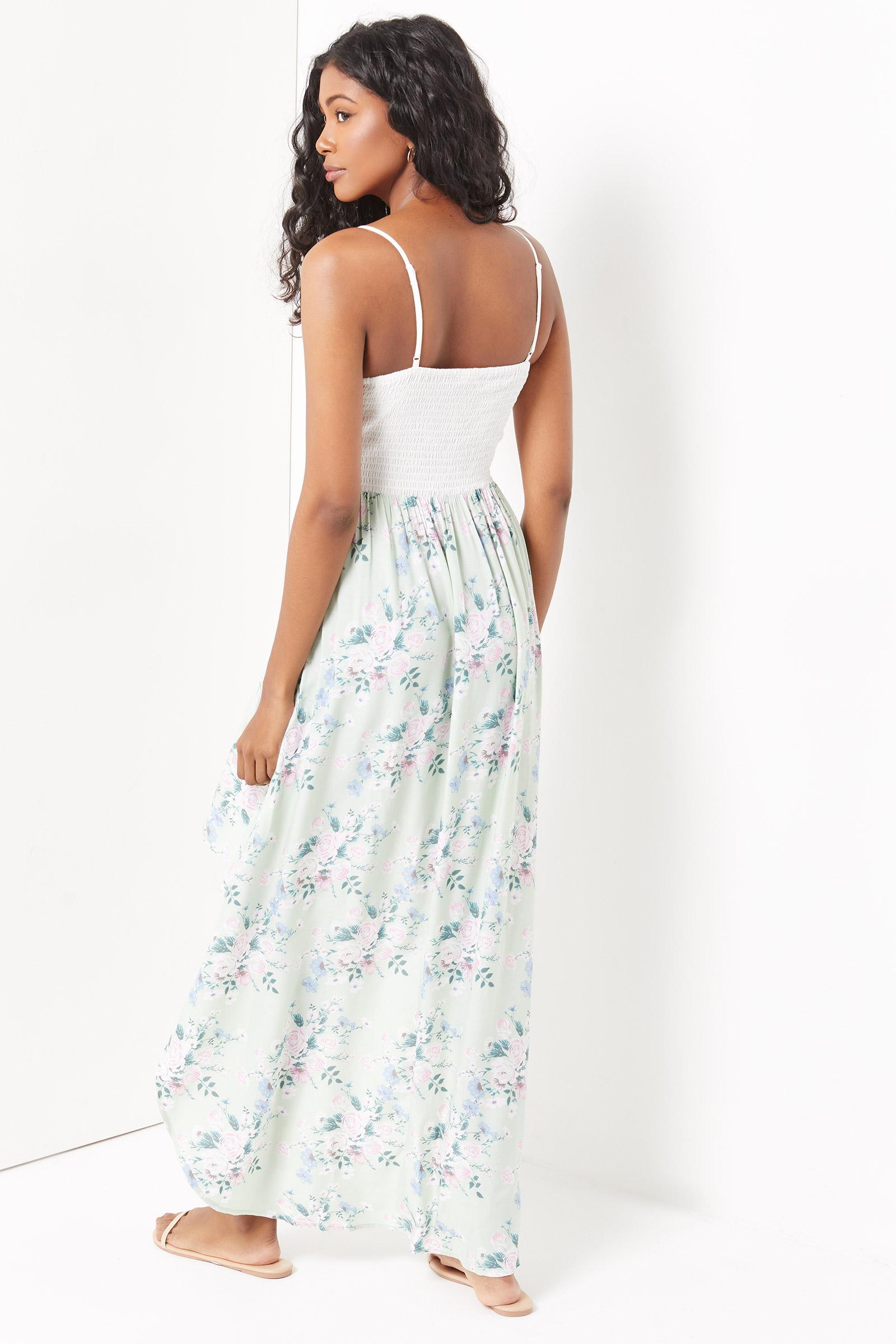 Lace Floral Mini Dress