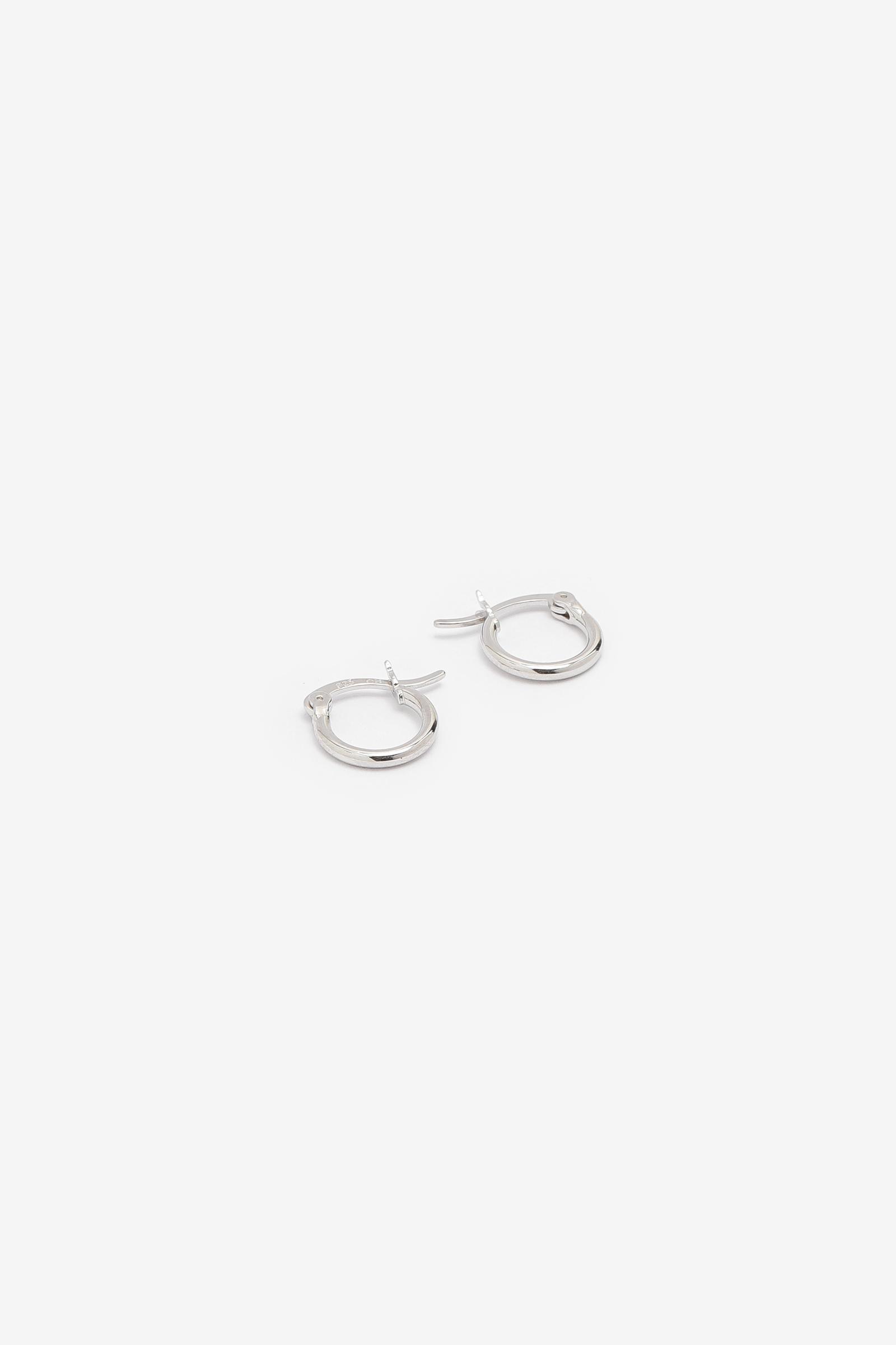 Mini Sterling Silver Hoops