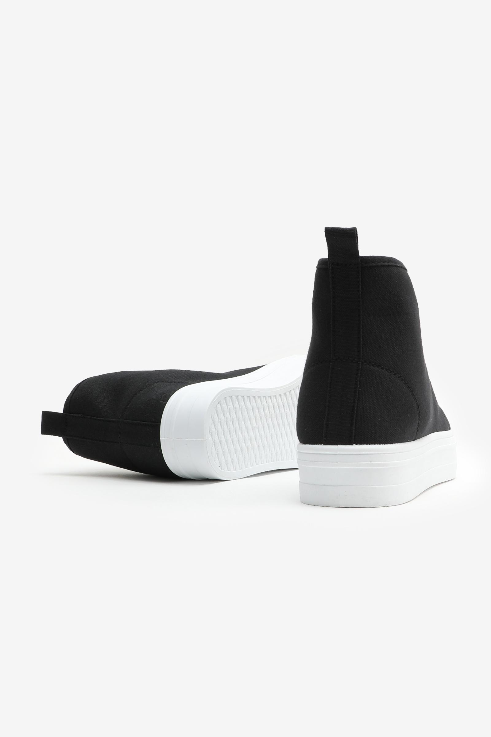 High Top Platform Sneakers