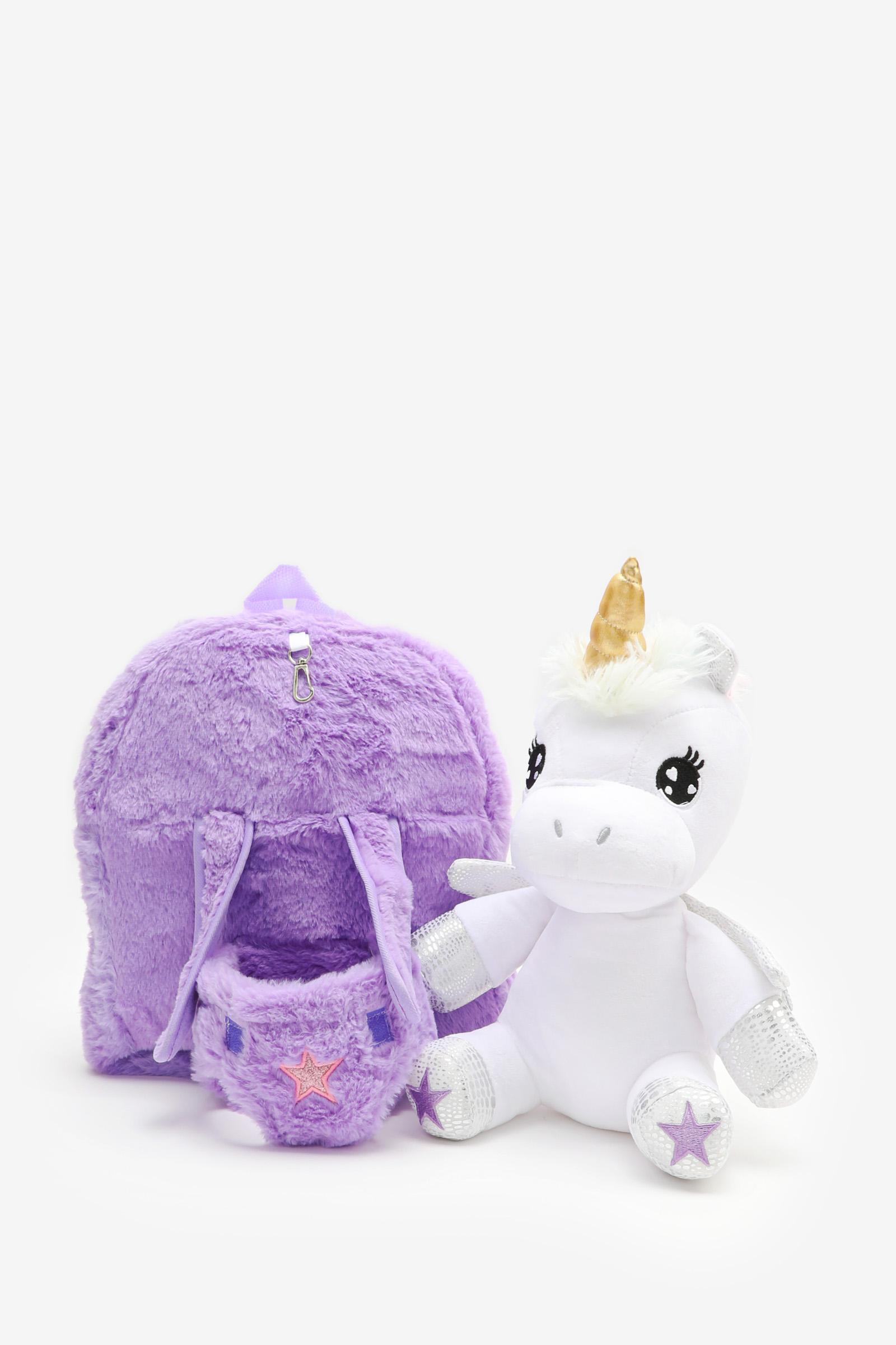 Unicorn Plush Backpack