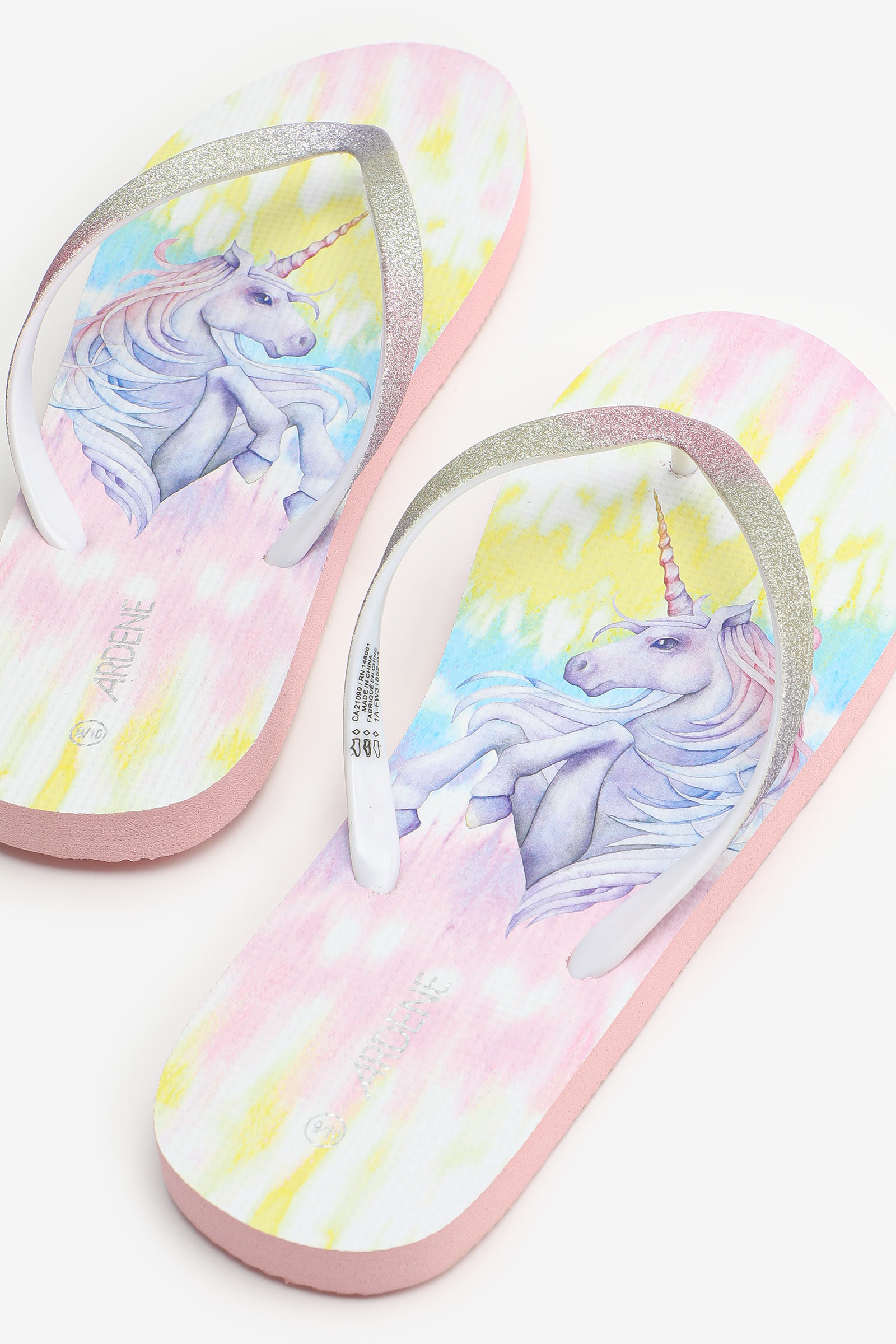 Unicorn Flip-Flops
