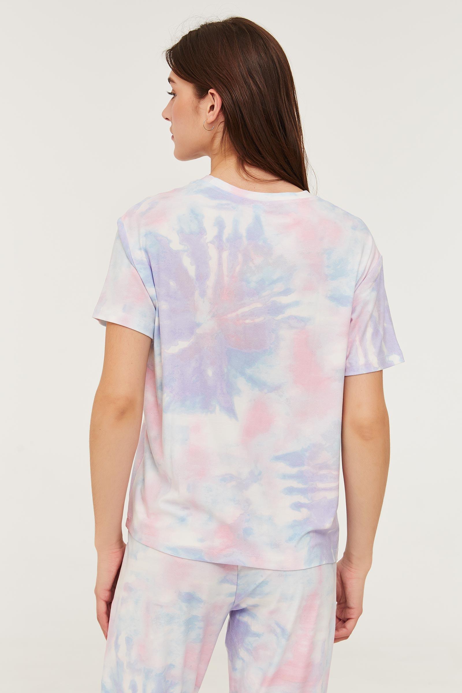 Soft Graphic Tie-dye PJ Tee