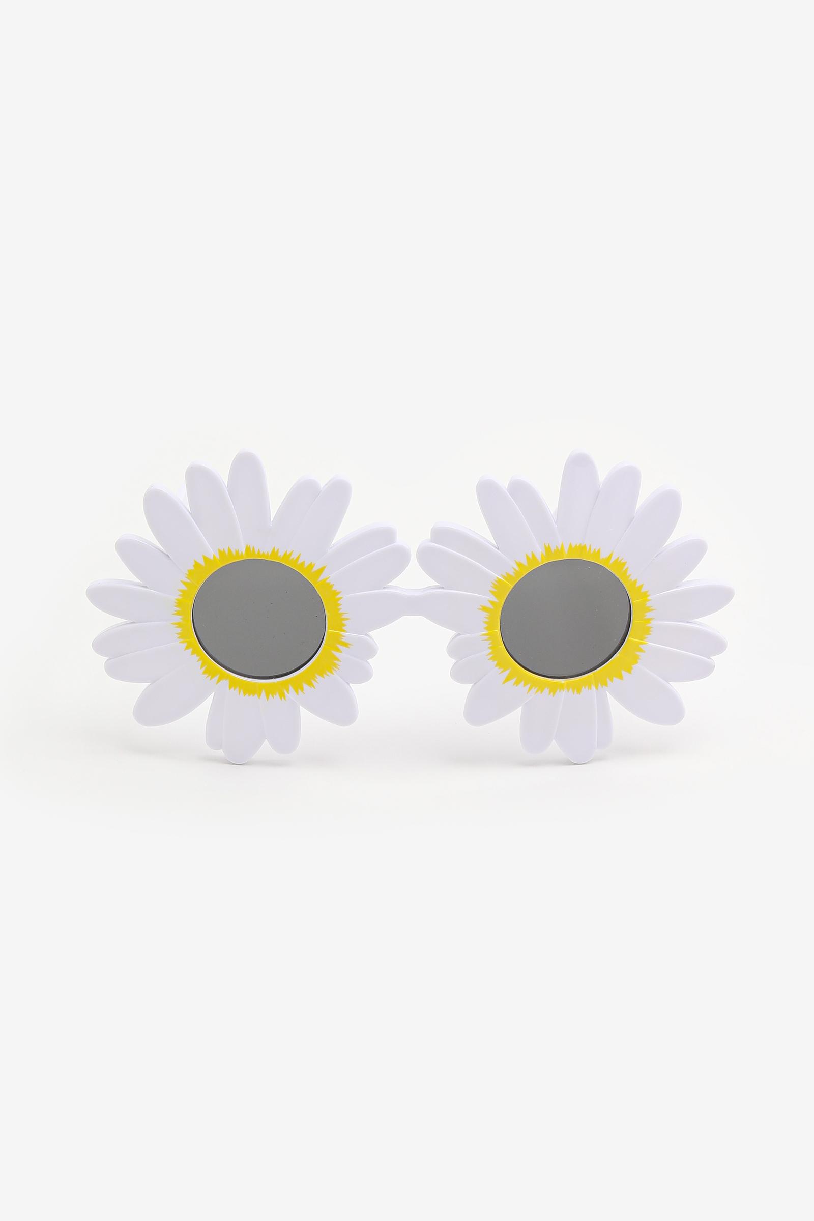 Lunettes soleil en fleur pour enfants