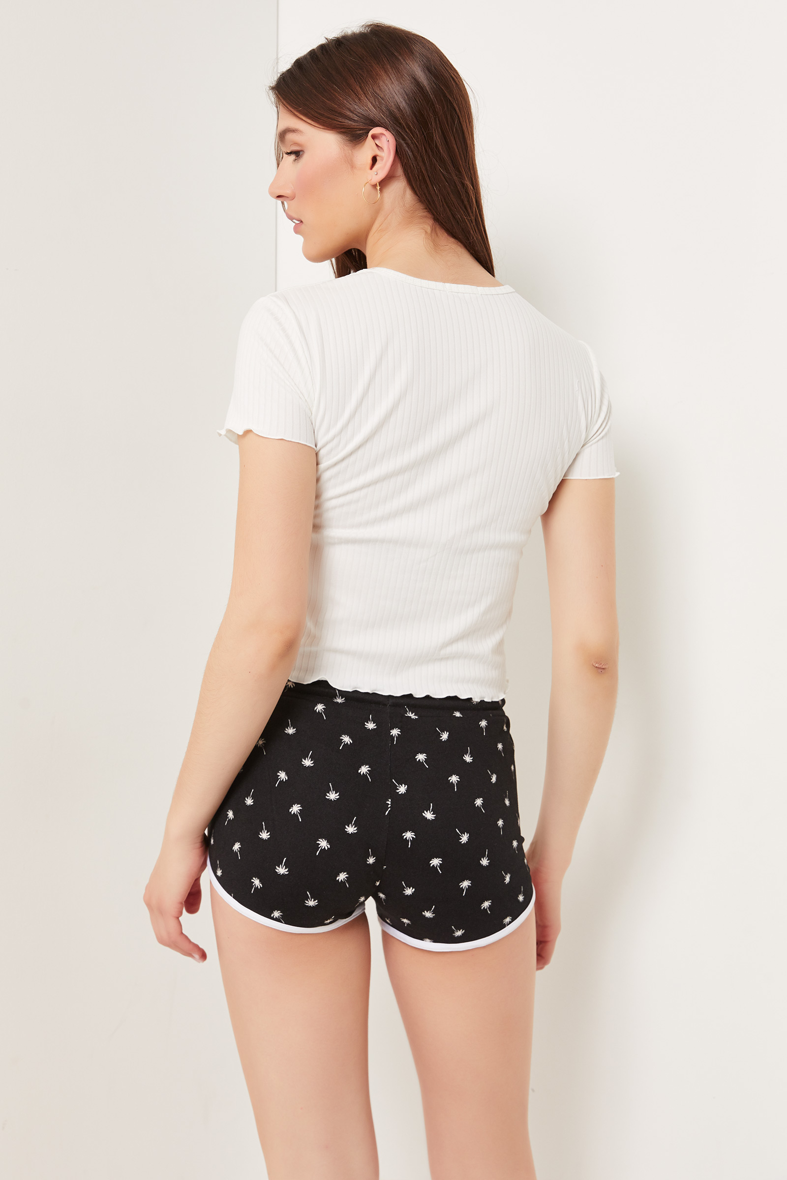 Deluxe Palm Tree Lounge Shorts