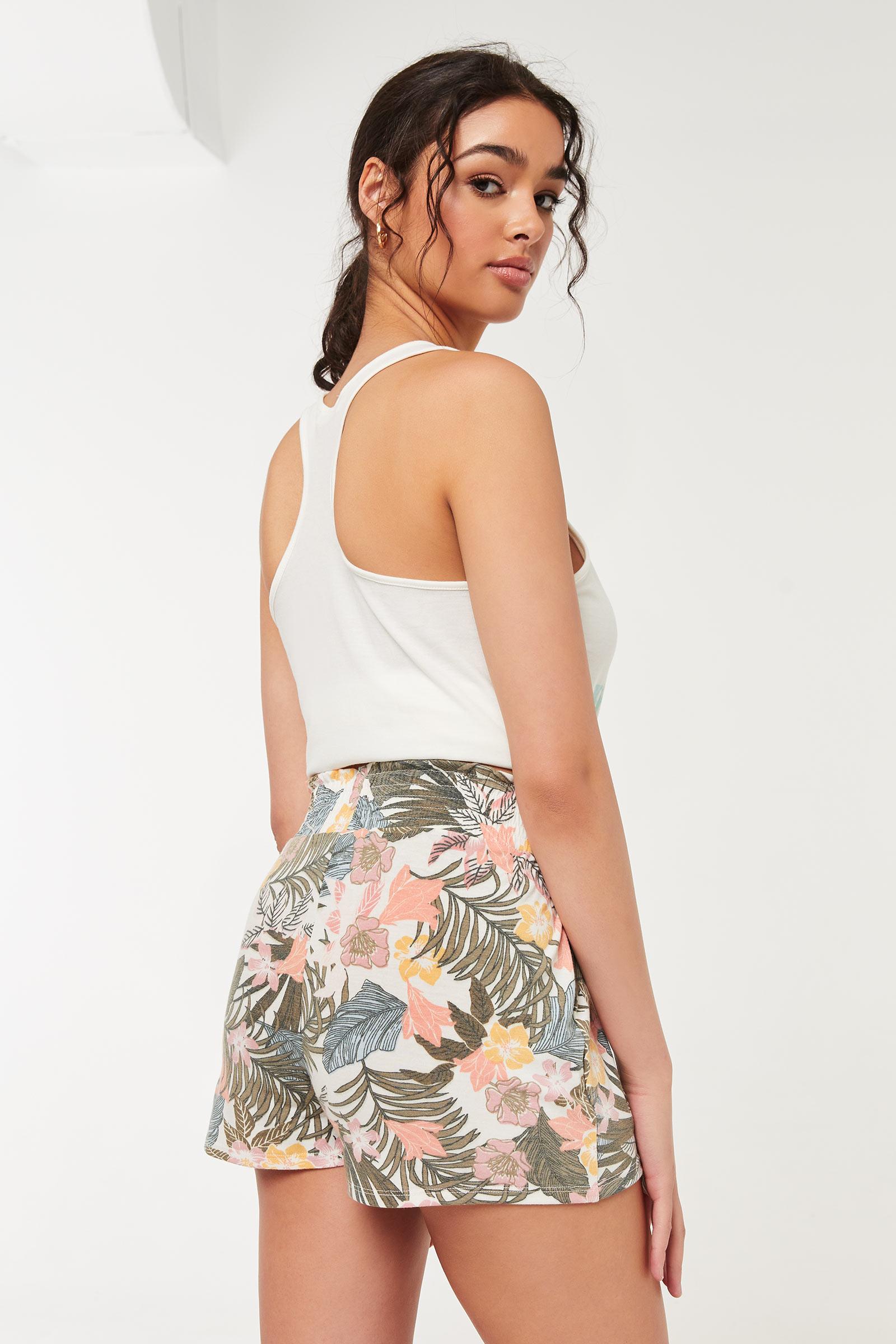 Tropical Smocked Lounge Shorts
