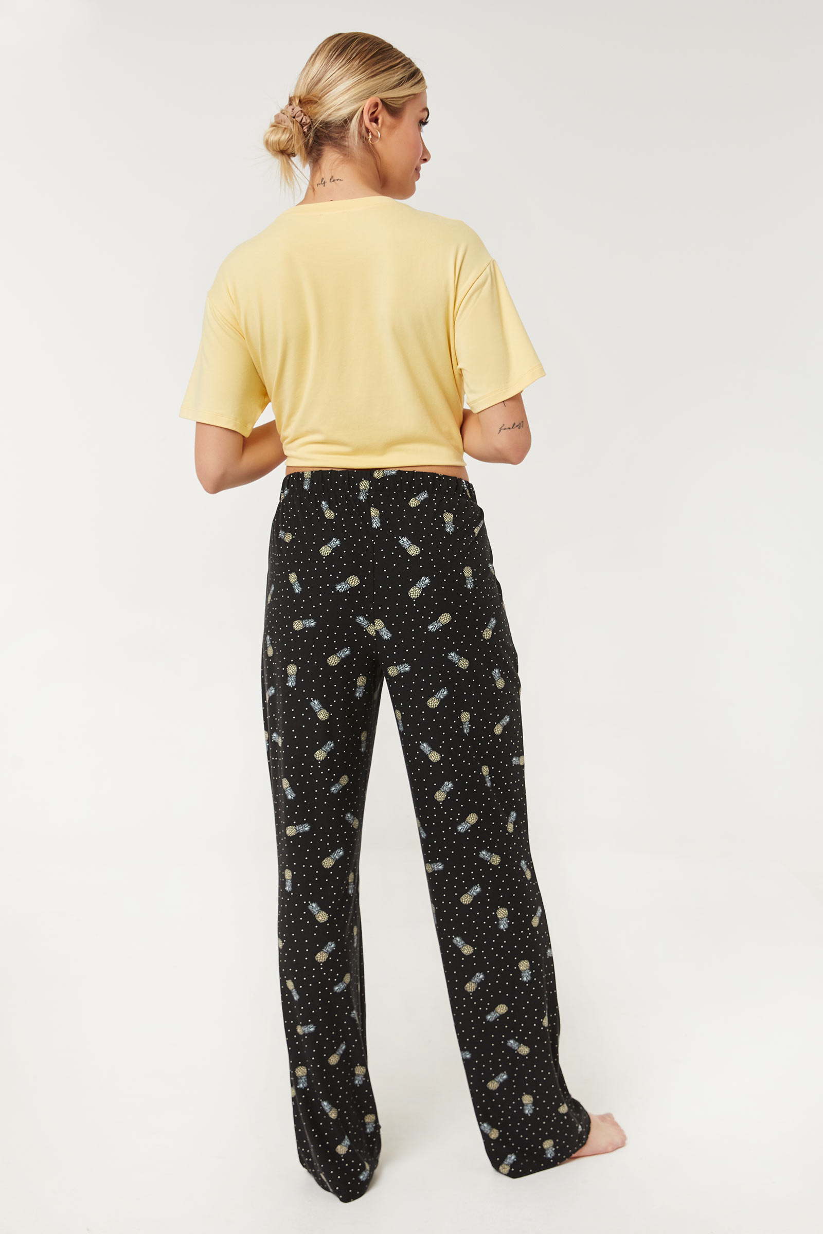 Pineapple PJ Pants