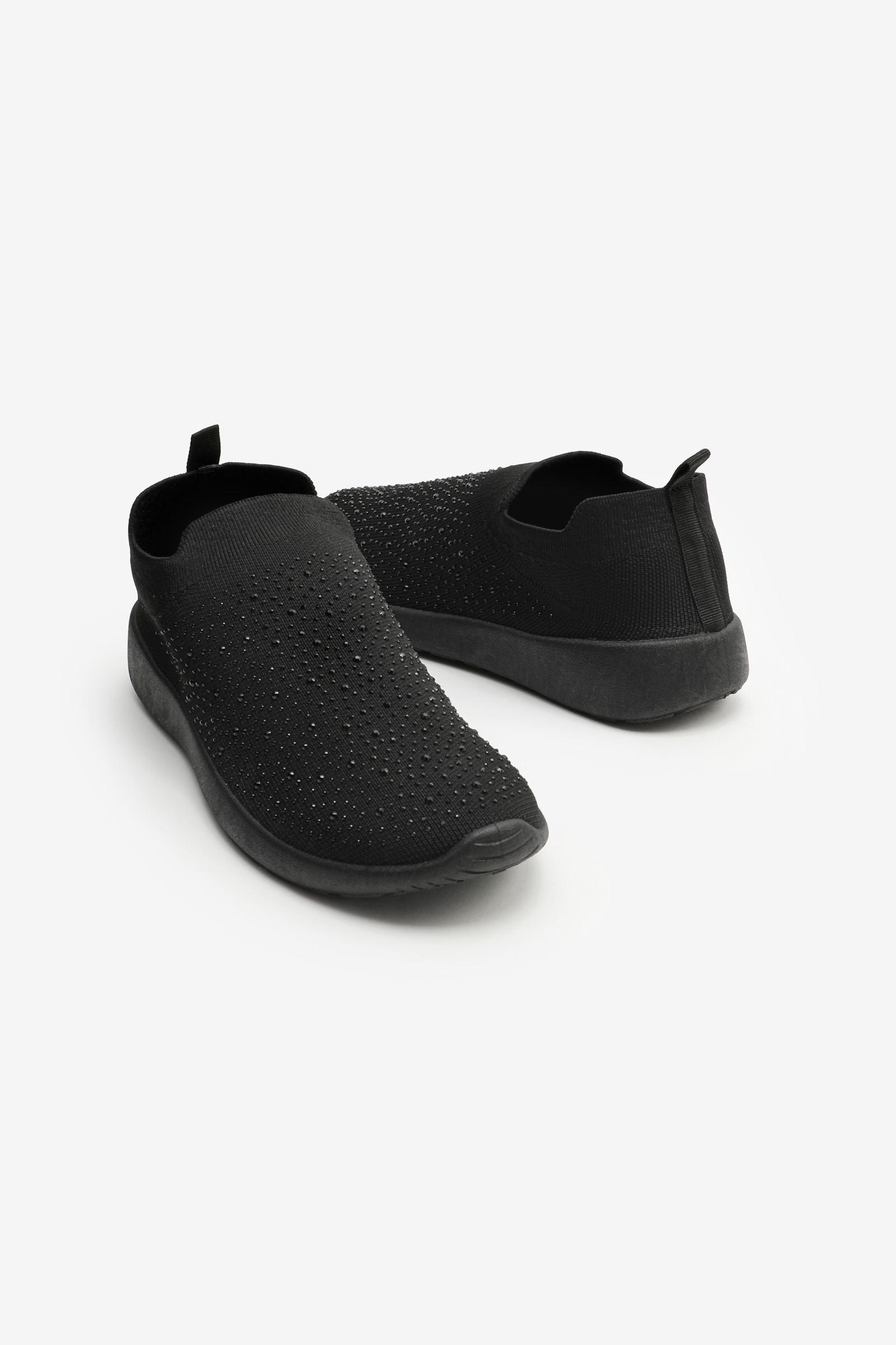 Slip-On Gemstone Running Shoes