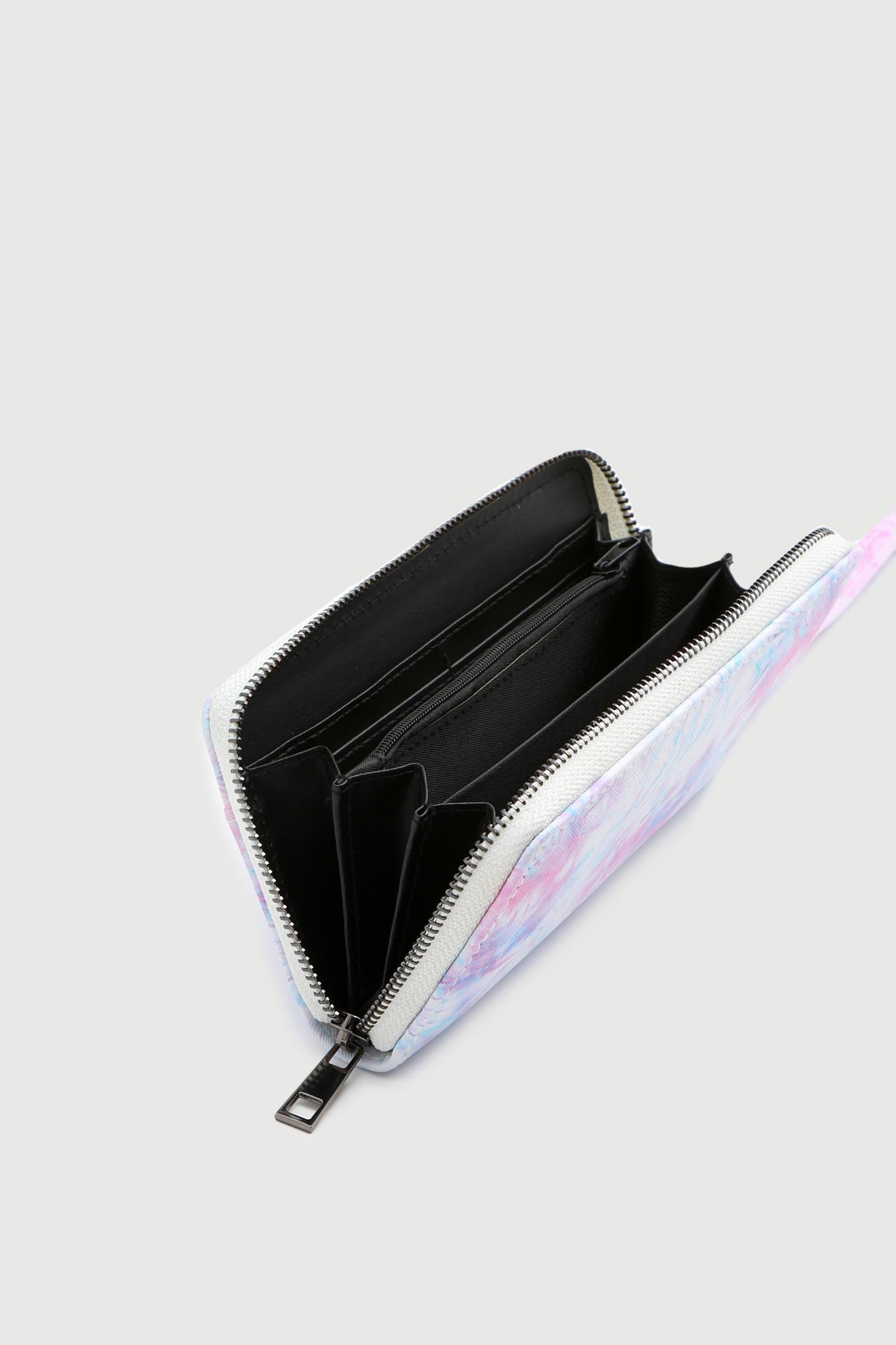 Tie-Dye Accordion Wallet