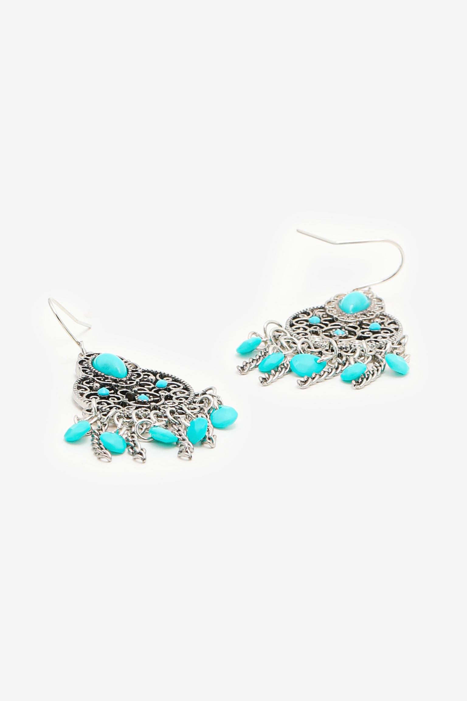 Turquoise Dangling Earrings