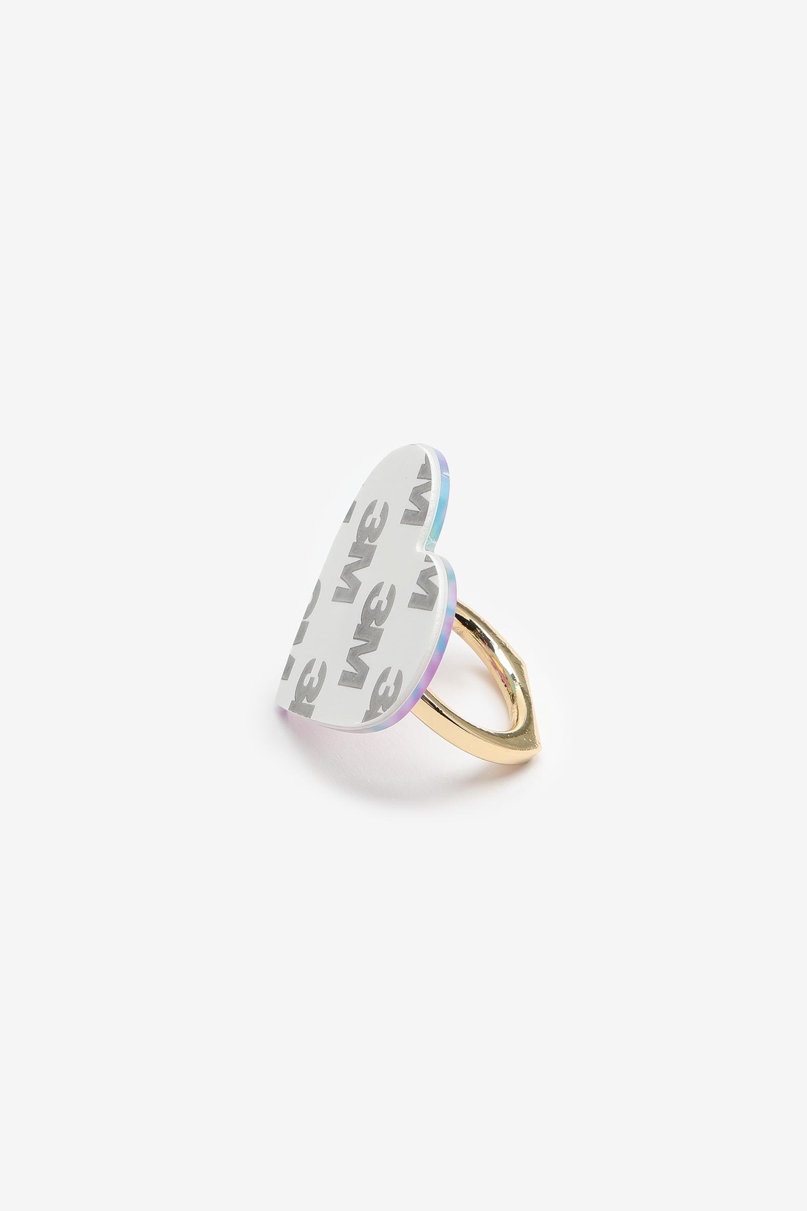 Tie-Dye Heart Phone Ring Grip