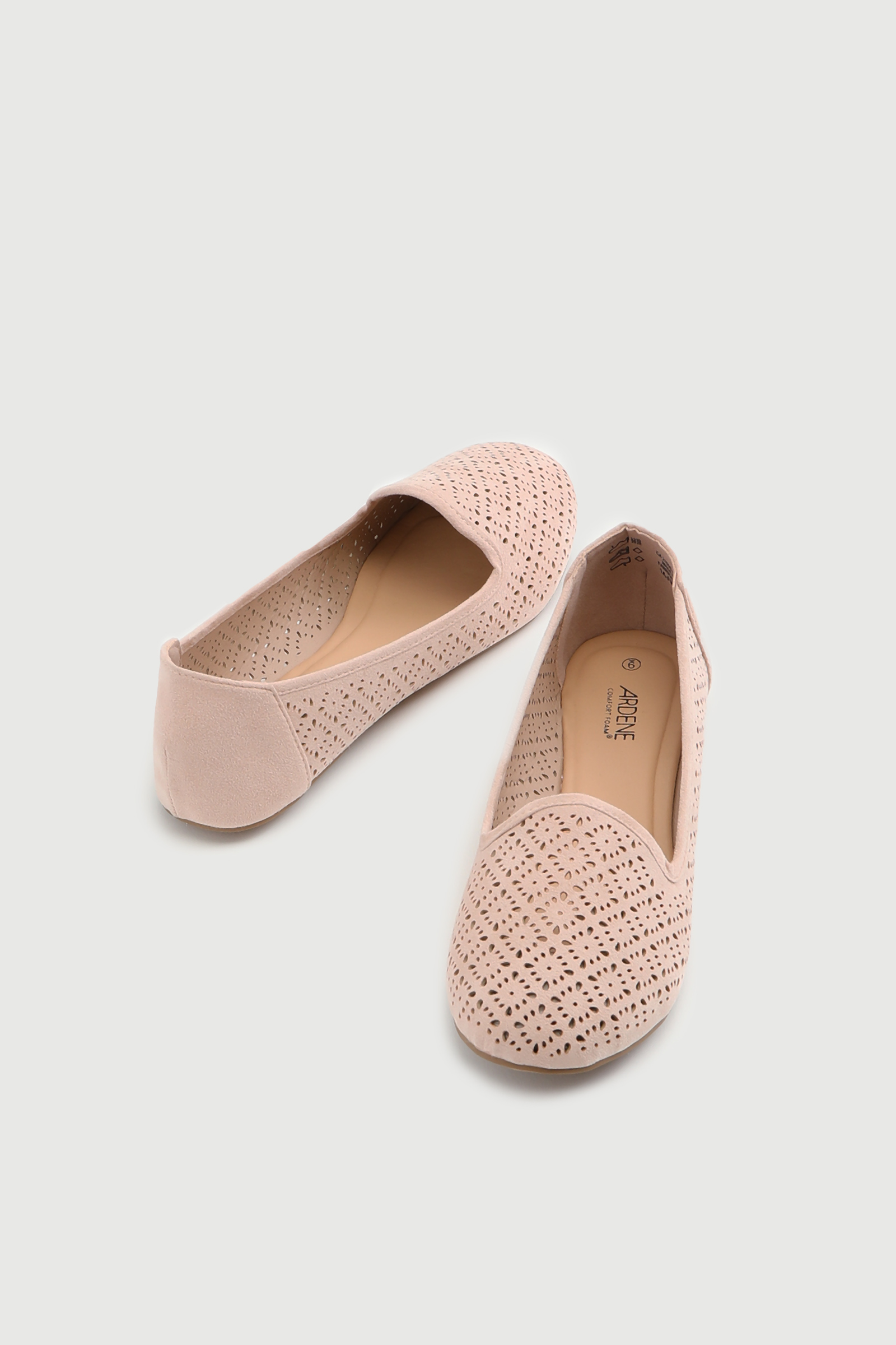 Cut Out Slip-On Flats