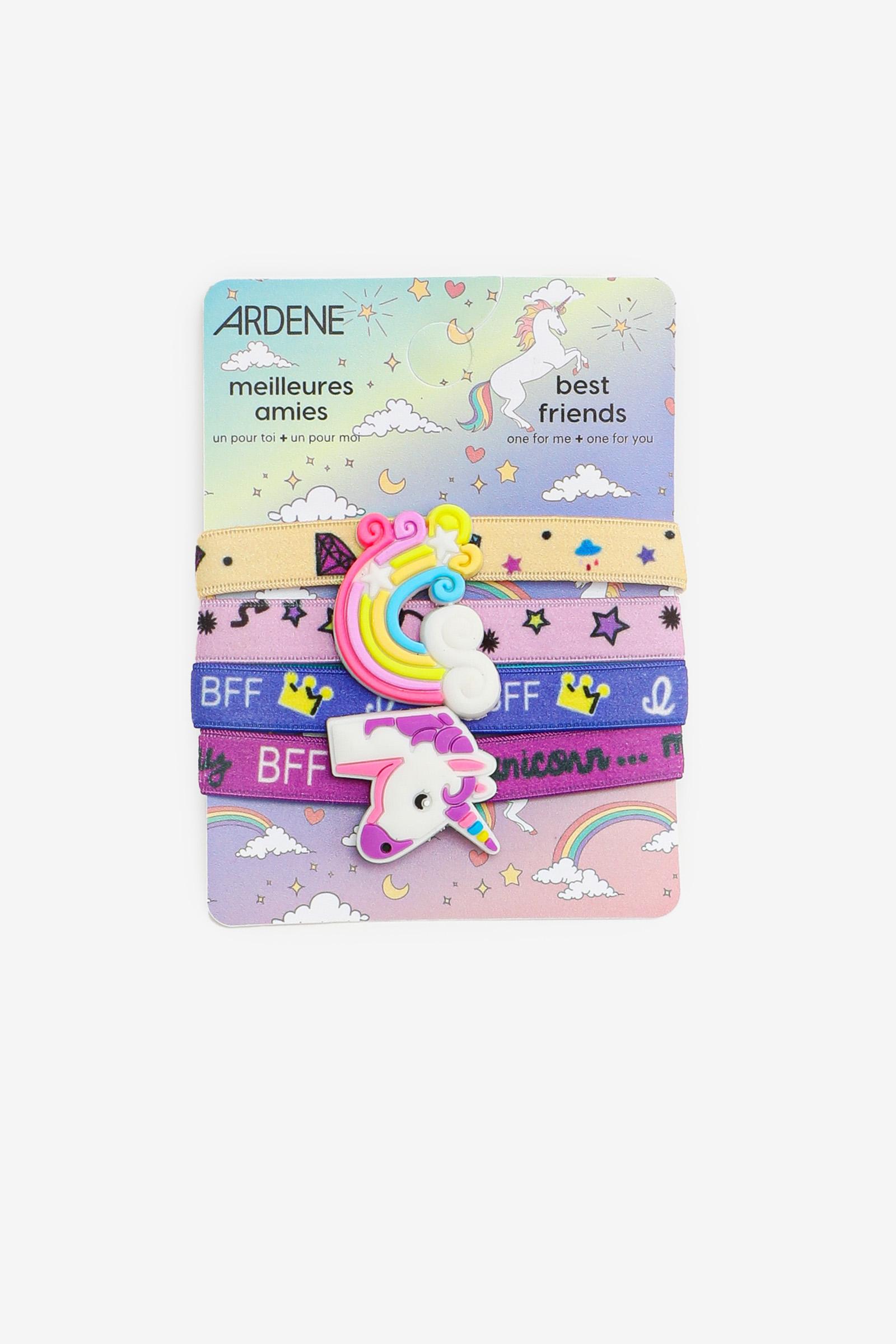 5-Pack BFF Bracelets for Girls